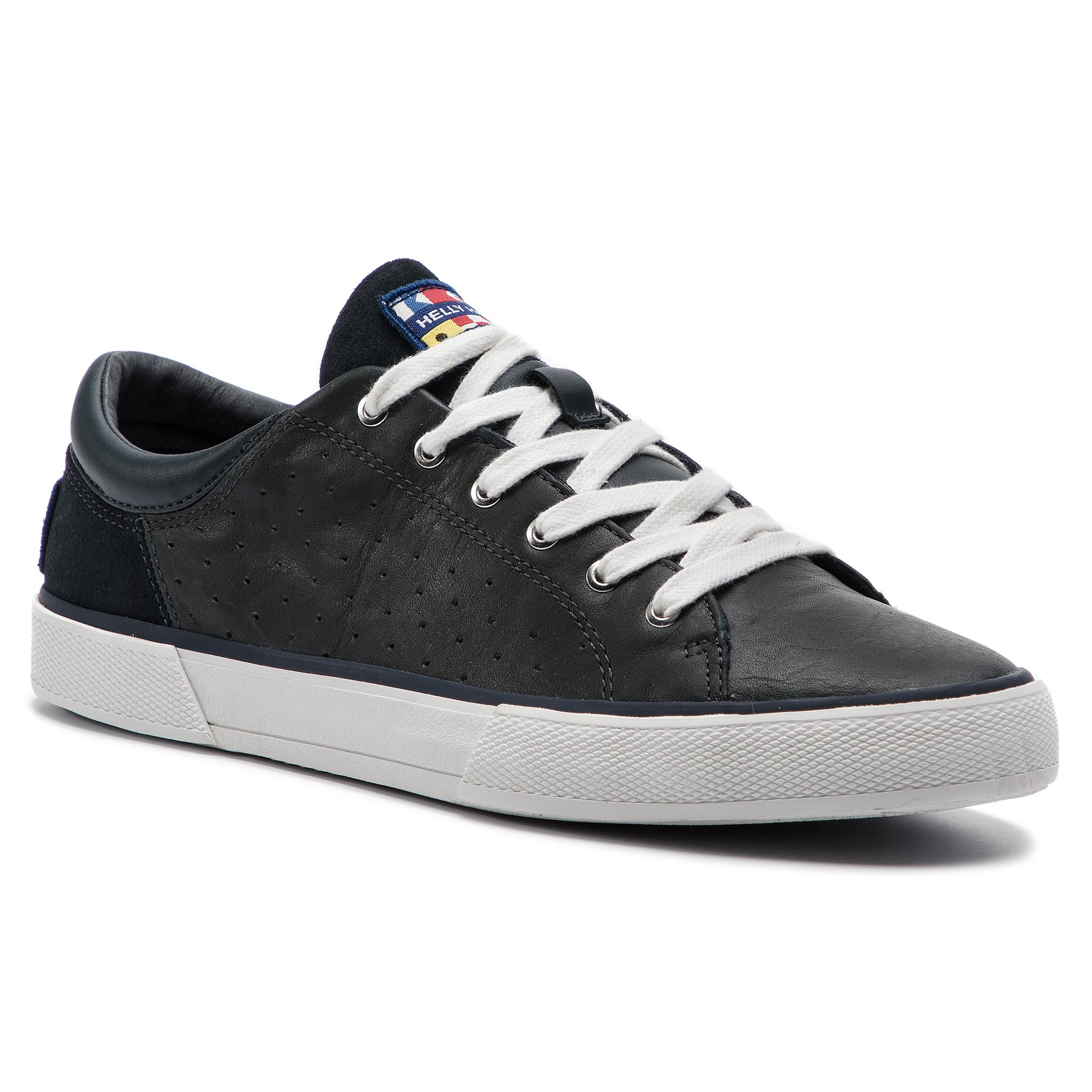 Teniși HELLY HANSEN - Copenhagen Leather Shoe 115-02.597 Navy/Off White