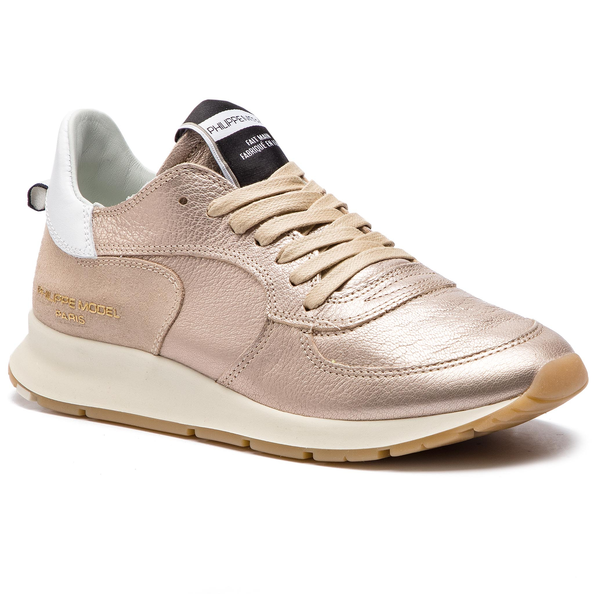 Sneakers PHILIPPE MODEL - Montecarlo NTLU M001 Metal Or Rose