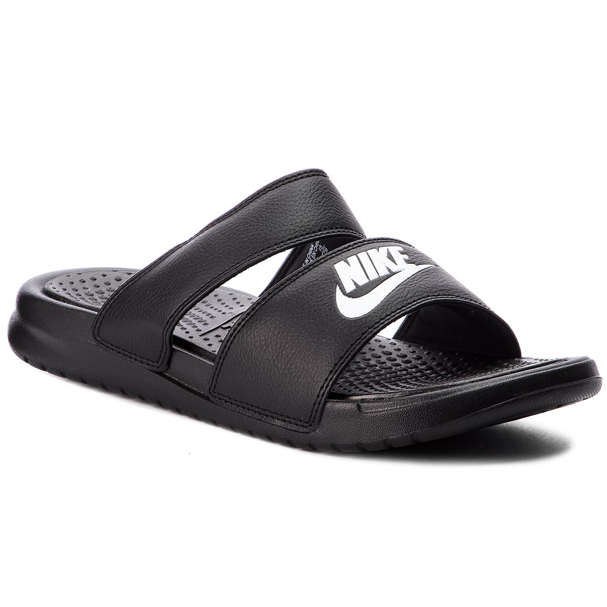 Șlapi NIKE - Benassi Duo Ultra Slide 819717 010 Black/White