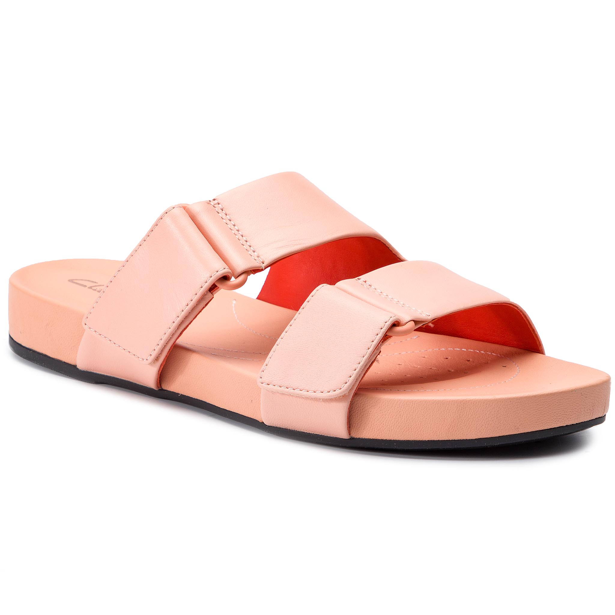 Șlapi CLARKS - Bright Deja 261400934 Light Pink