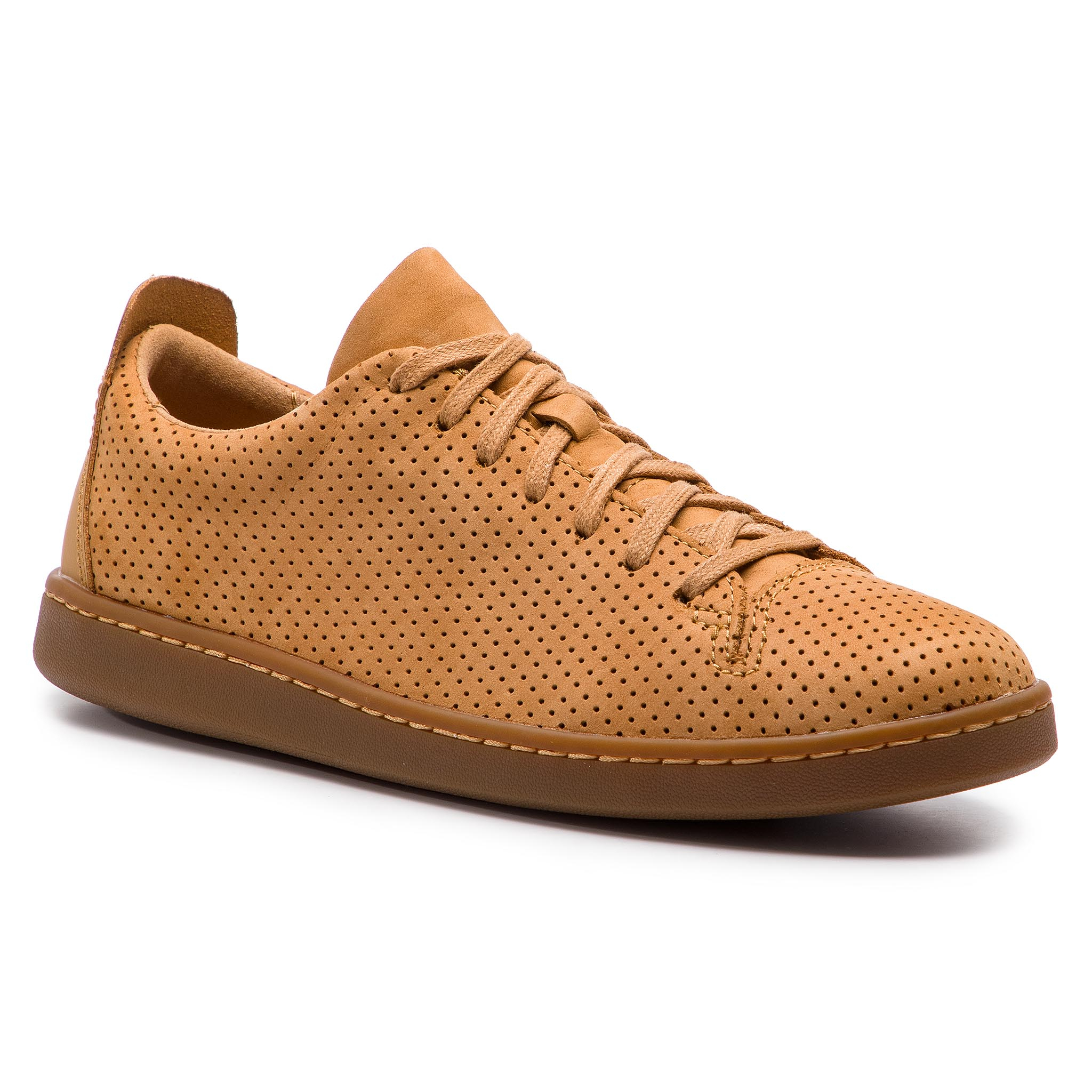Sneakers CLARKS - Nathan Limit 261416187 Light Tan Nubuck