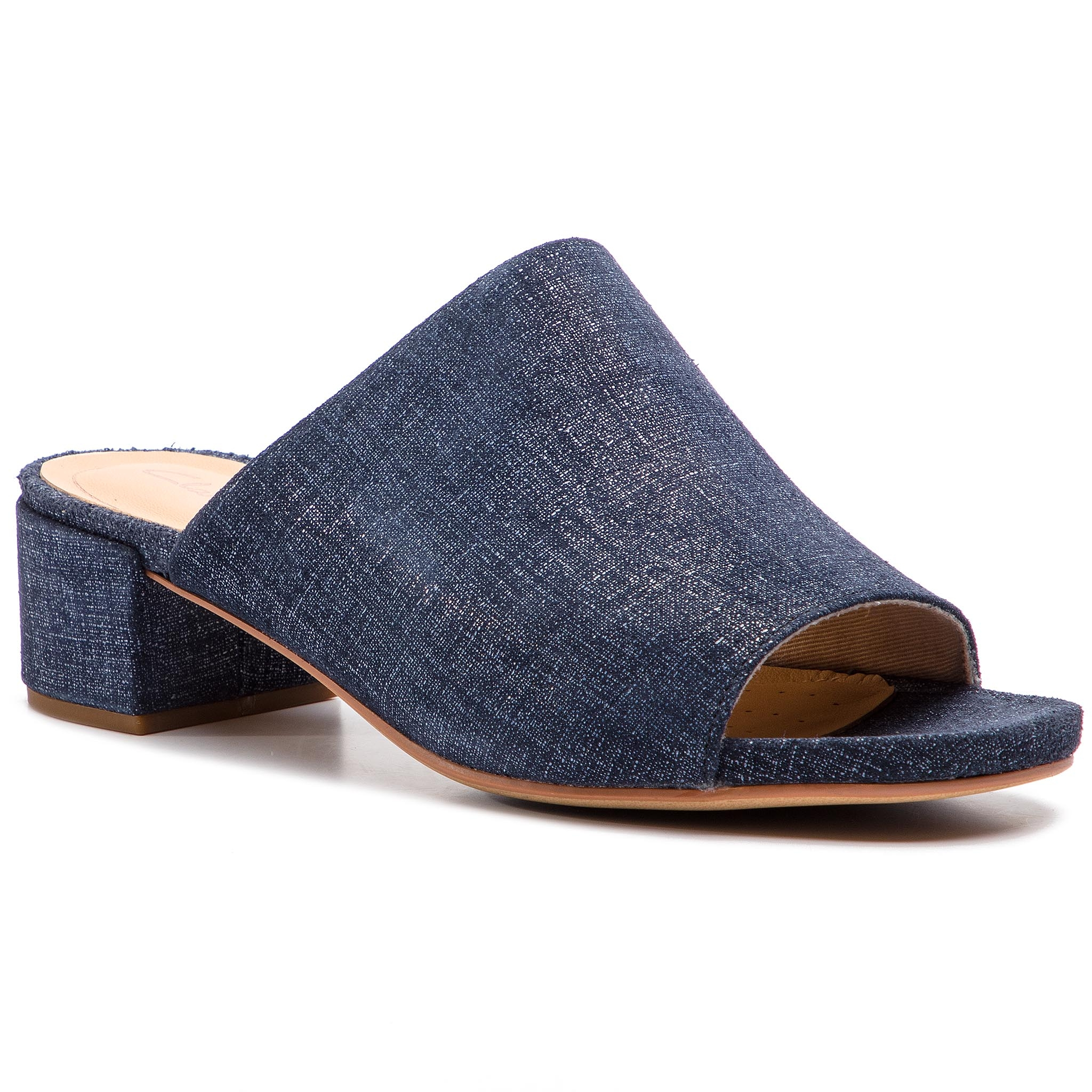 Șlapi Clarks - Orabella Daisy 261388884 Navy Interest imagine epantofi.ro 2021