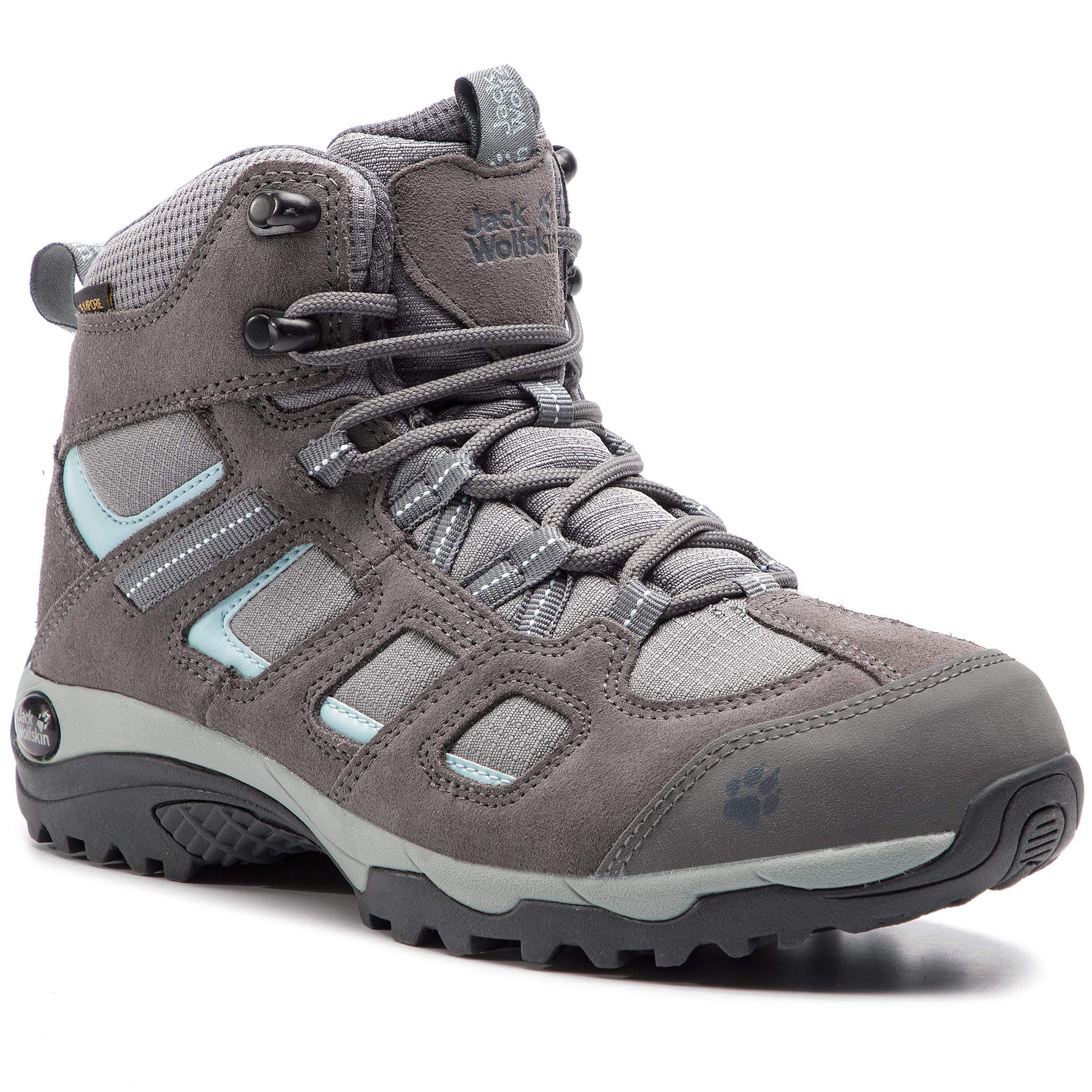 Trekkings Jack Wolfskin - Vojo Hike 2 Texapore Mid W 4032381 Tarmac Grey imagine epantofi.ro 2021