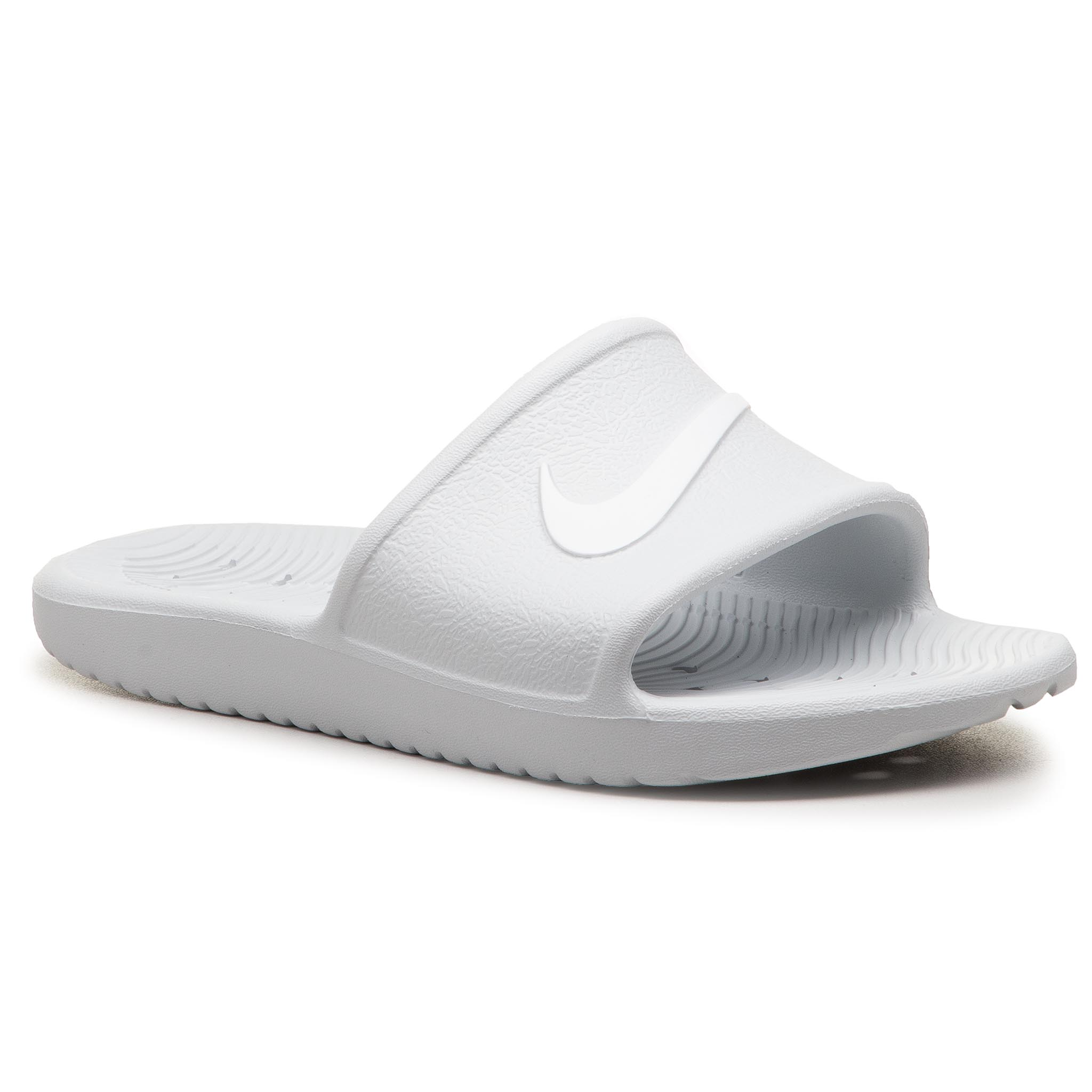 Șlapi NIKE - Kawa Shower 832655 010 Pure Platinum/White