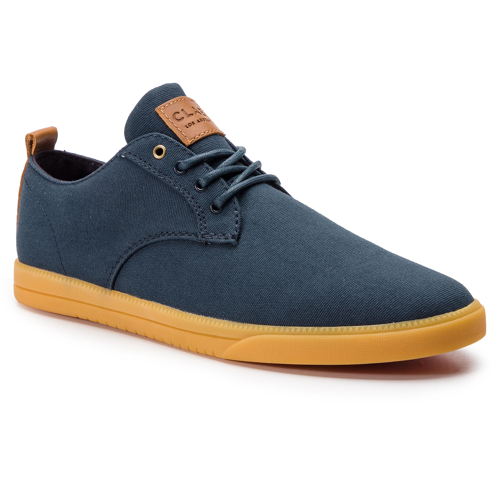 Pantofi CLAE - Ellington Textile CLA01275 Deep Navy Canvas