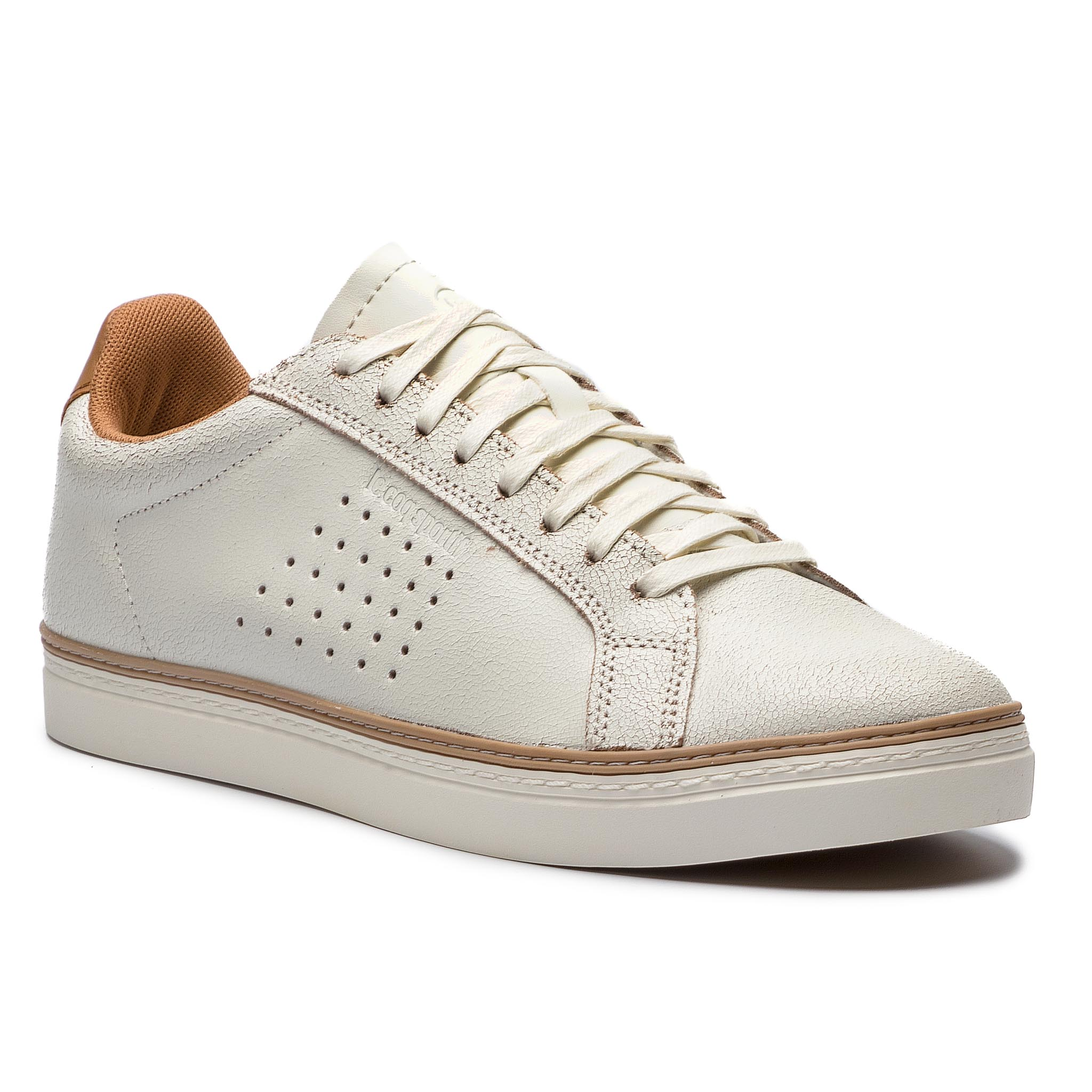 Sneakers LE COQ SPORTIF - Courtace Premium 1820349 Marshmallow/Brown Sugar
