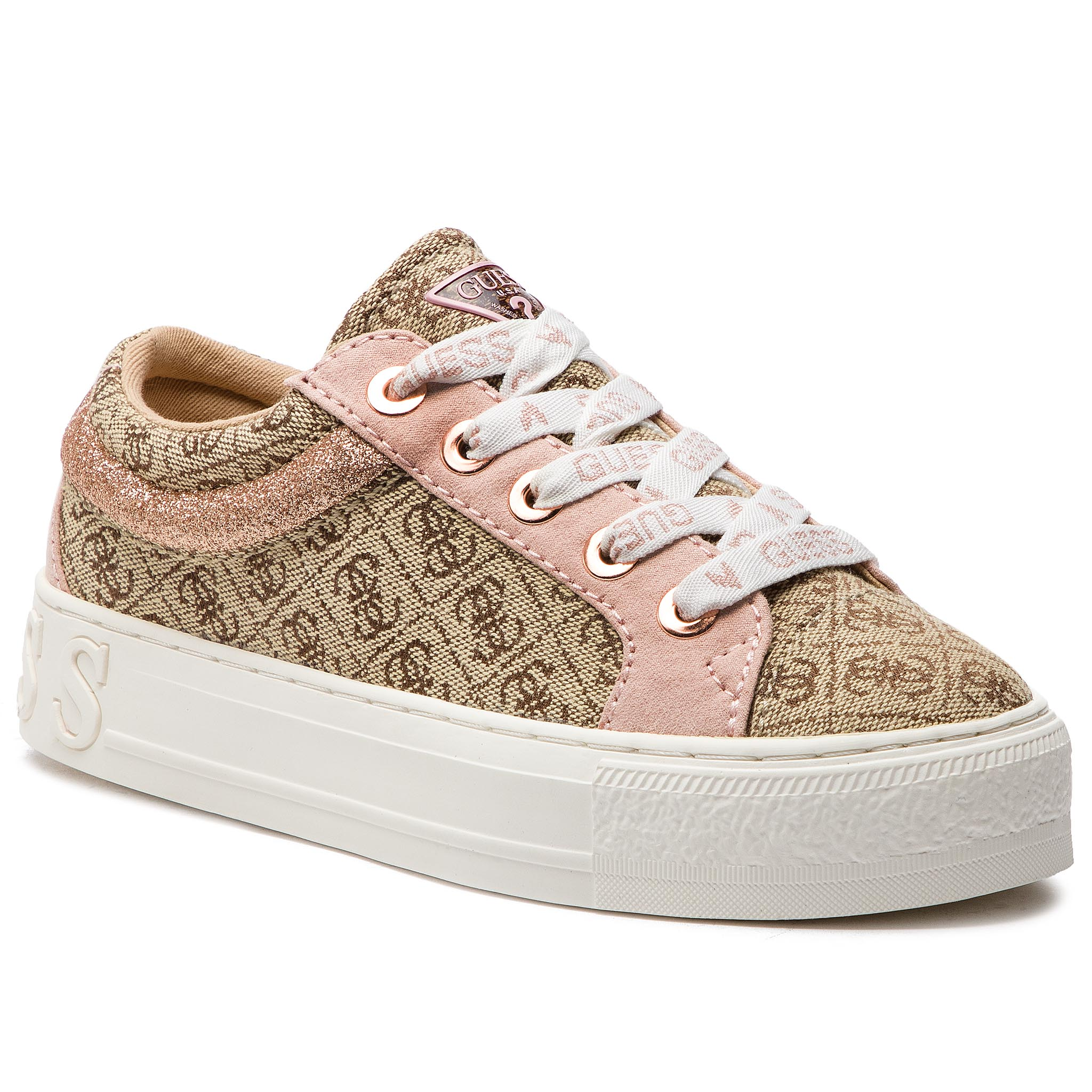 Sneakers GUESS - FL5LY2 FAL12 BEIBR BROWN