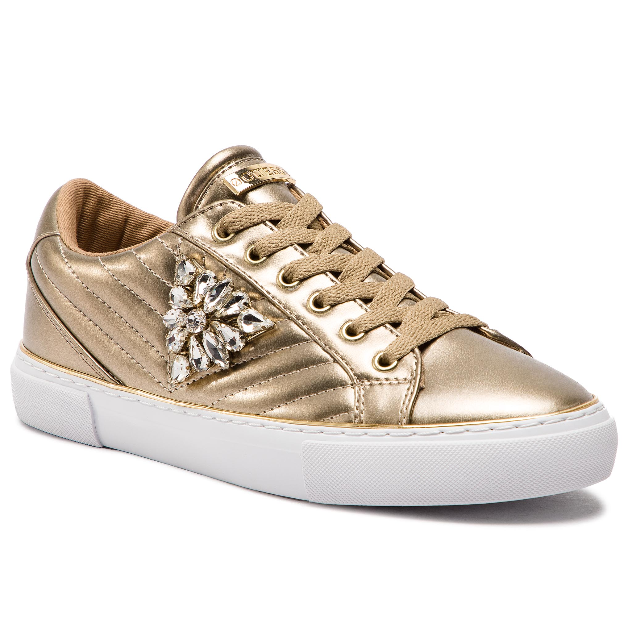 Sneakers GUESS - Groovies FL5GRS LEL12 GOLD