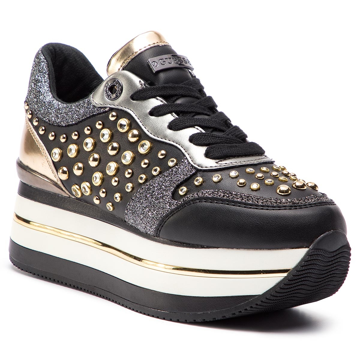 Sneakers GUESS - FL5HAM ELE12 BLACK