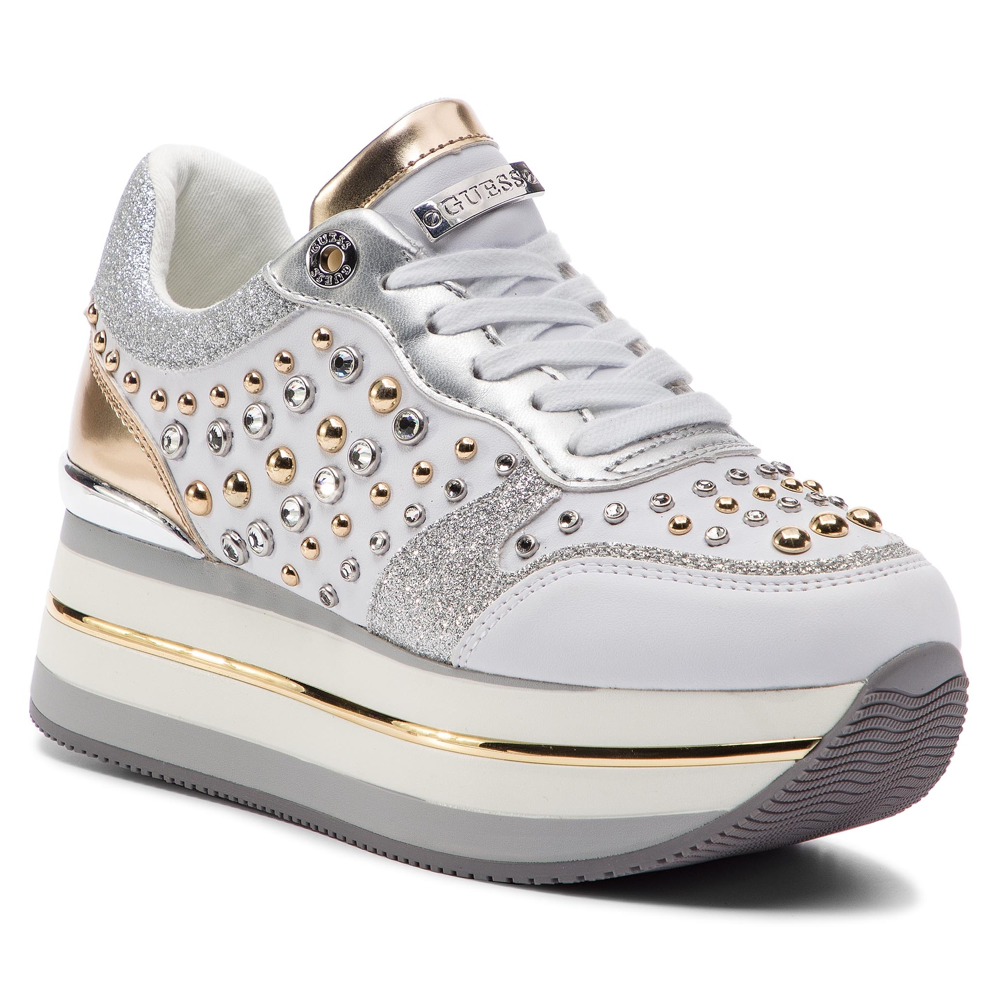 Sneakers GUESS - FL5HAM ELE12 WHITE