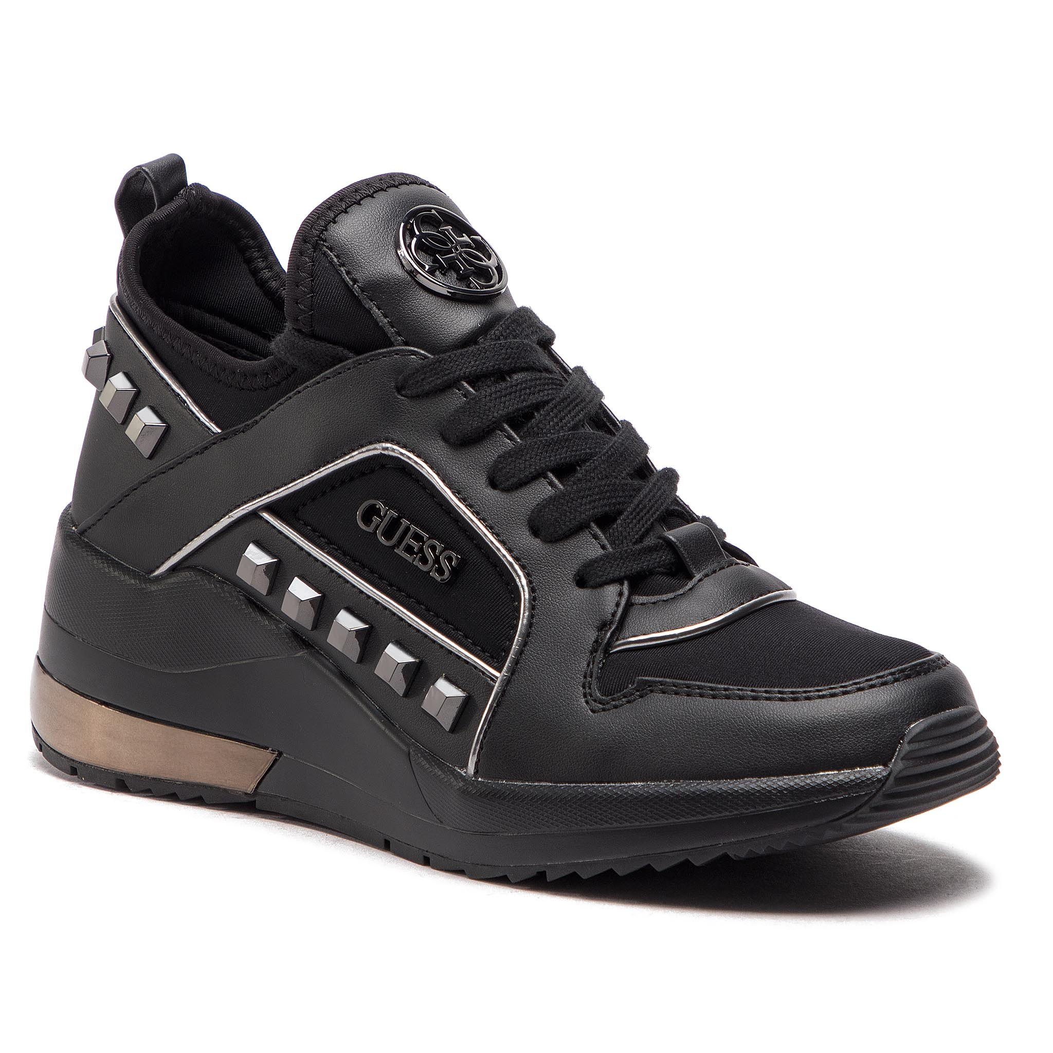 Sneakers GUESS - FL5JUL FAB12 BLACK