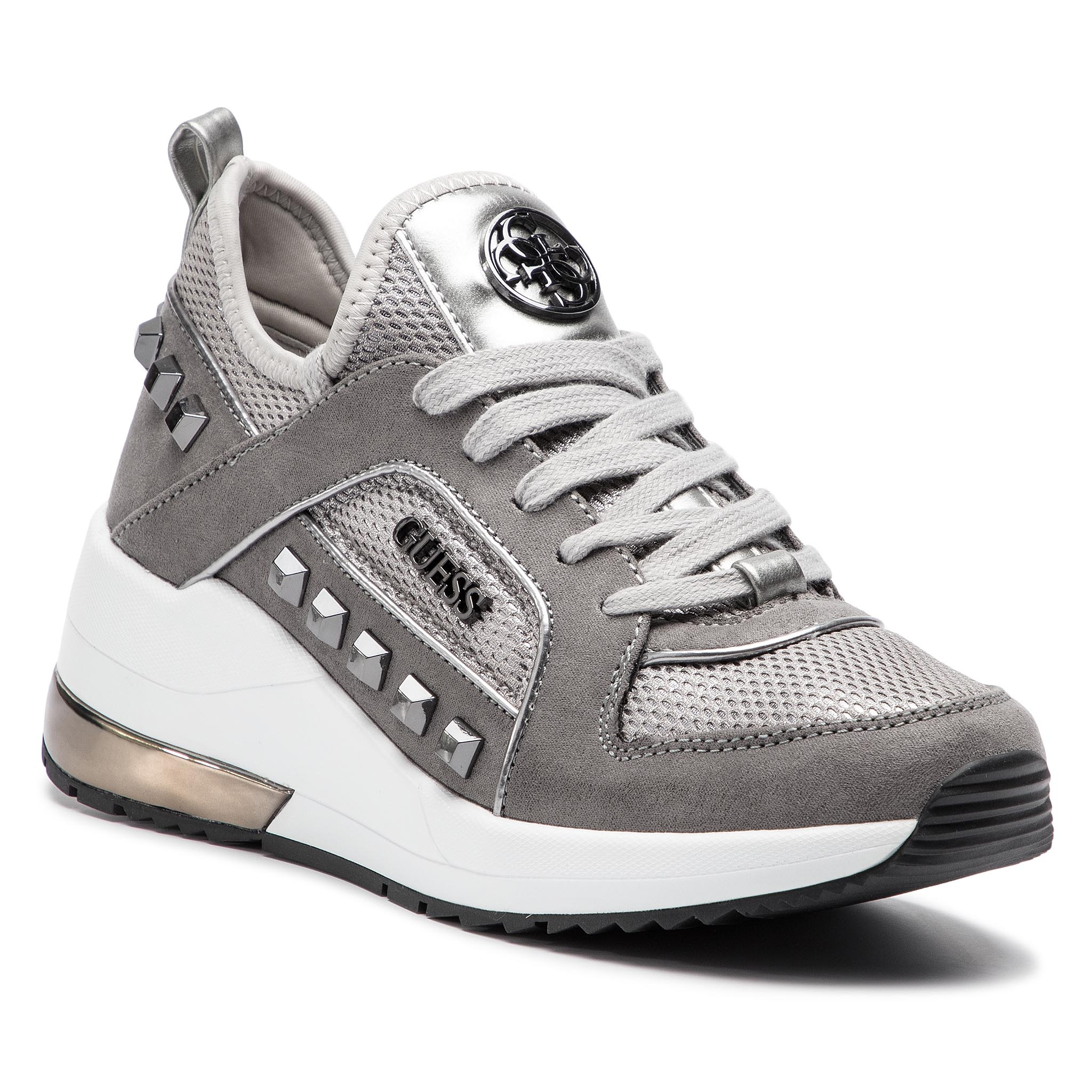 Sneakers GUESS - FL5JUL FAB12 SILVE