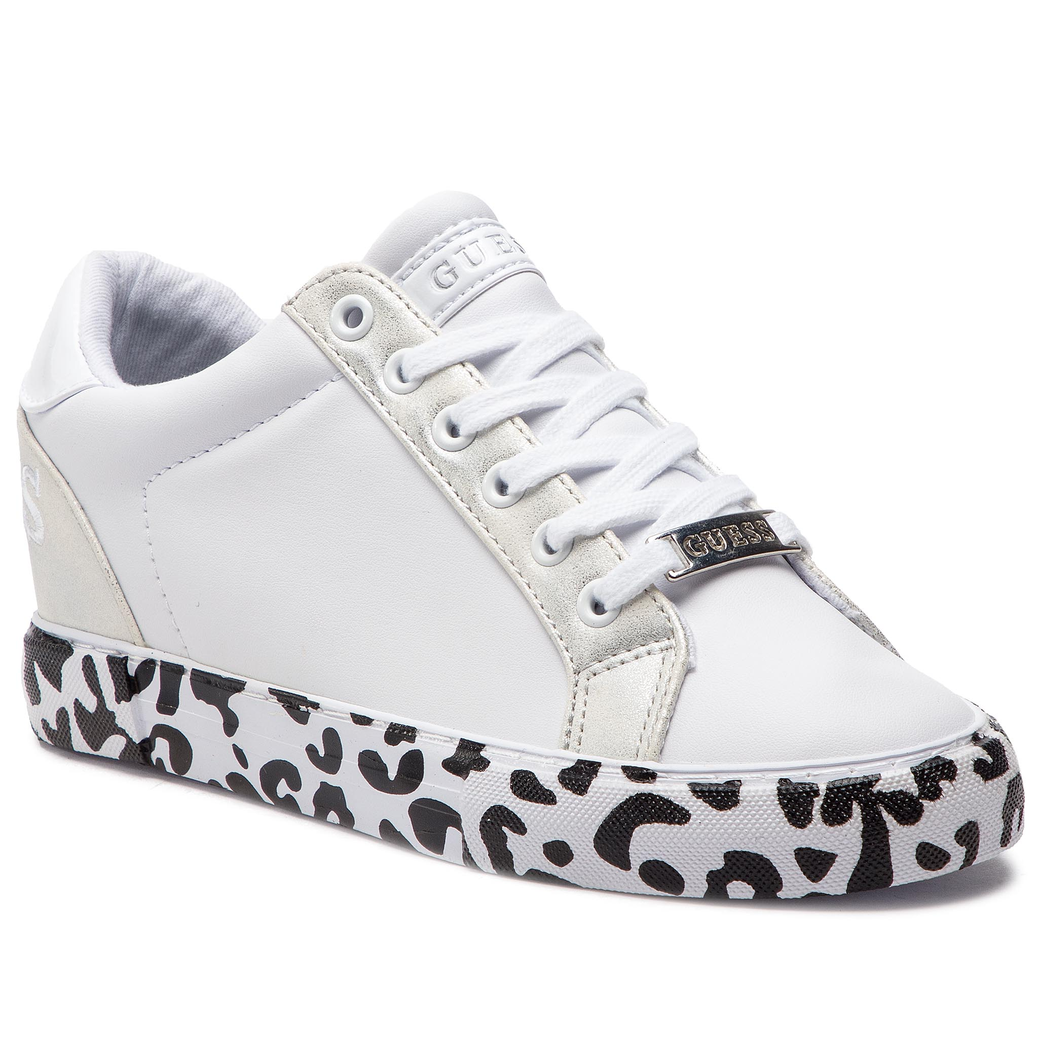 Sneakers GUESS - FL5PAX ELE12 WHITE