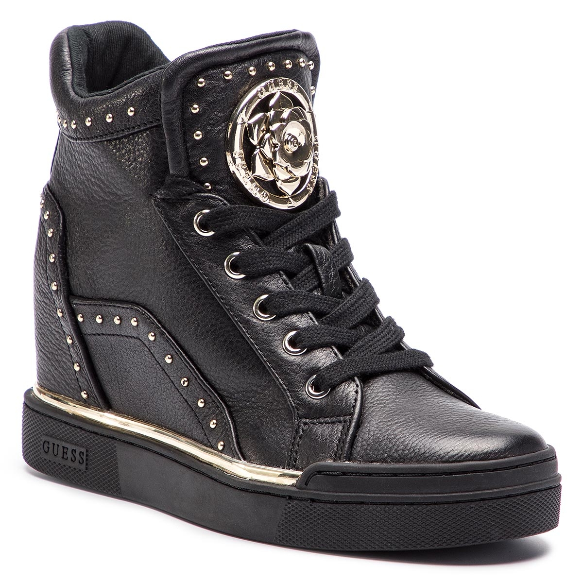 Sneakers GUESS - FL5FR2 LEA12 BLACK