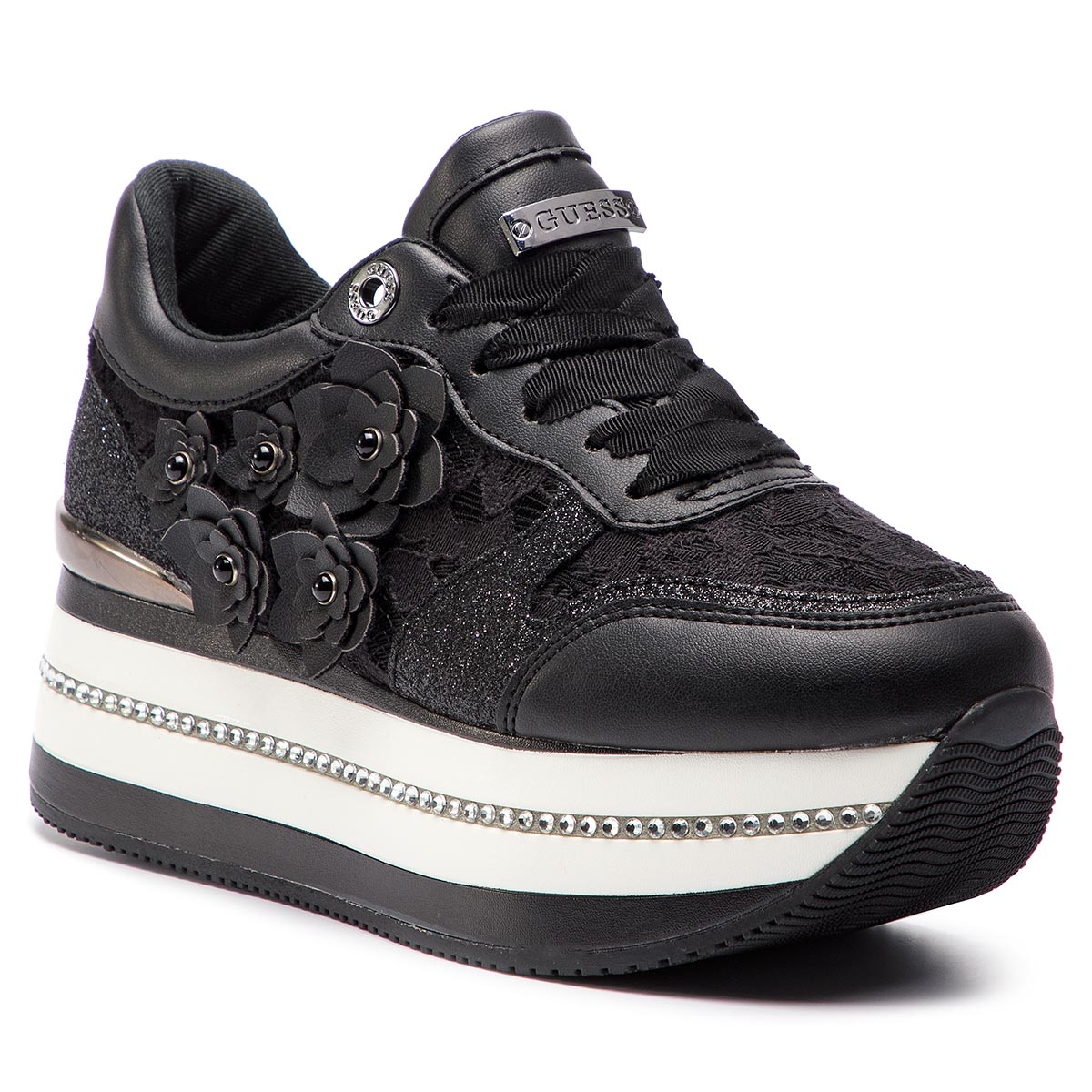 Sneakers GUESS - FL5HIN LAC12 BLACK
