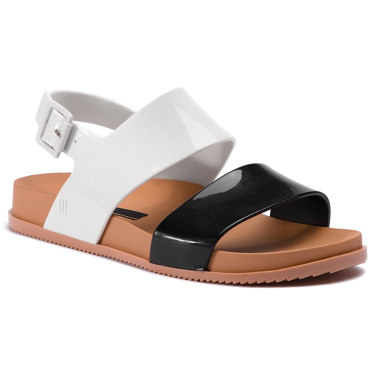 Sandale Melissa - Cosmic Sandal Iii Ad 32495 Black/White/Brown 52909 imagine epantofi.ro 2021
