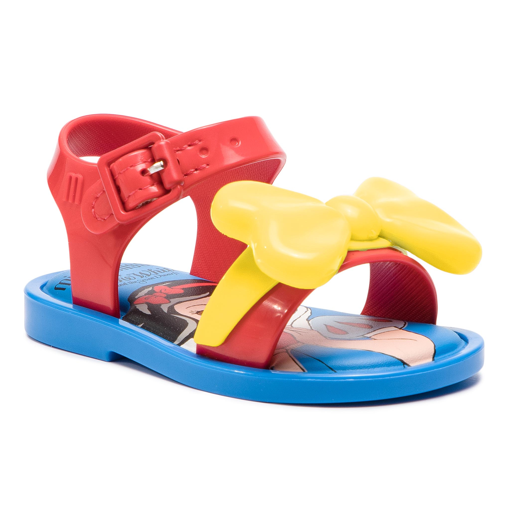 Sandale MELISSA - Mini Melissa Mar Sandal+Snow 32531 Blue/Yellow/Red 53213