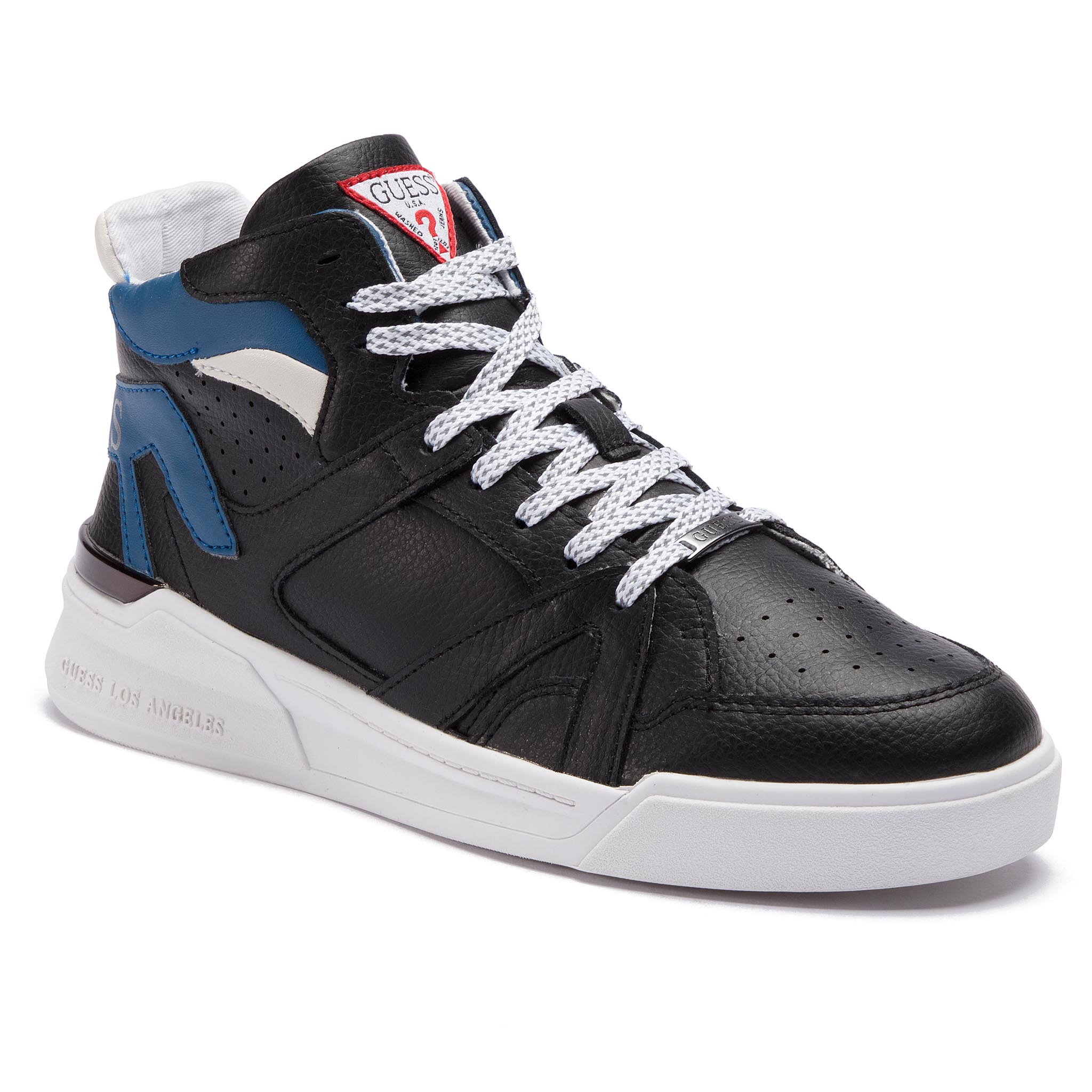 Sneakers GUESS - Madison FM6MAD LEA12 BLACK