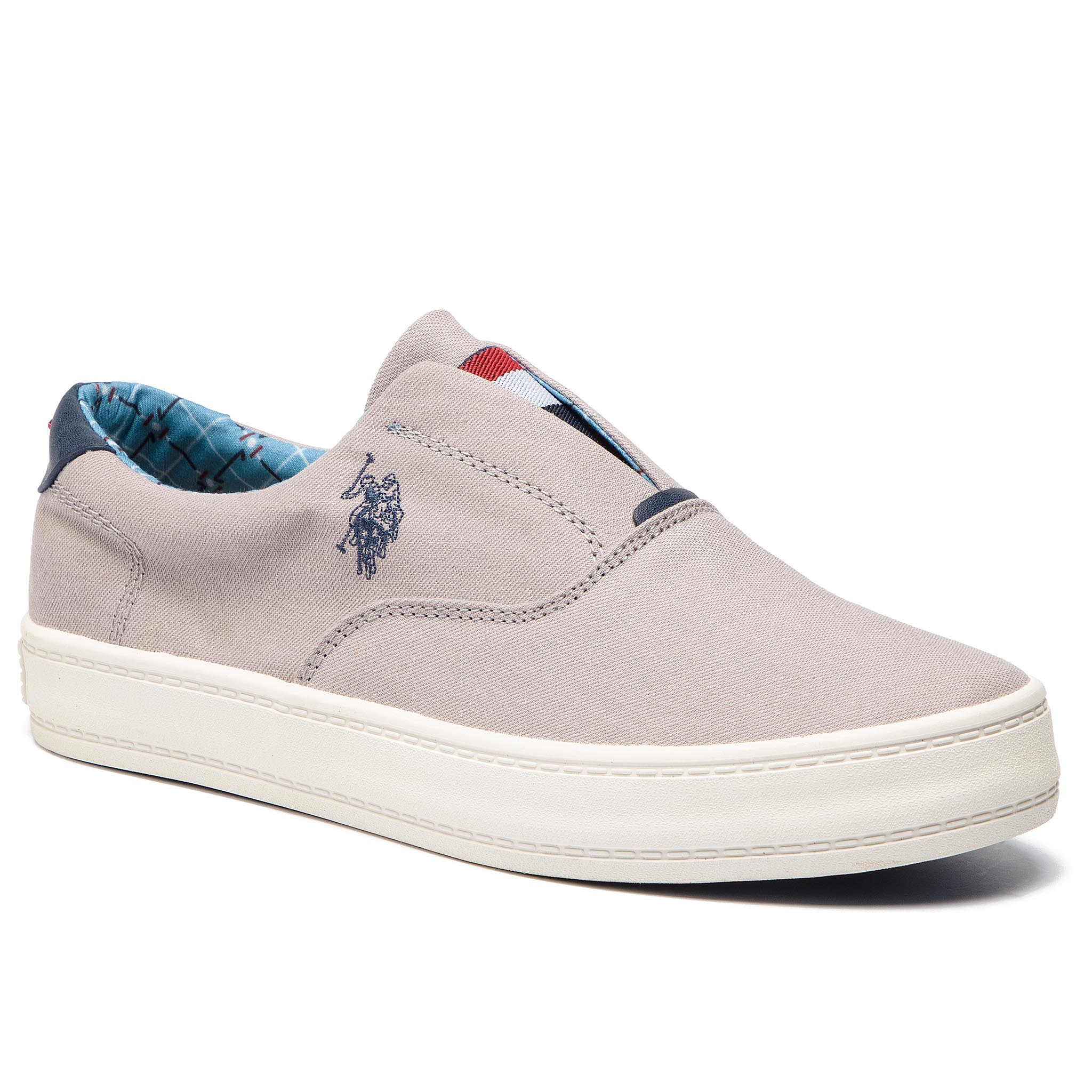 Teniși U.S. POLO ASSN. - Canvas GALAN4018S9/C1 Flag Grey