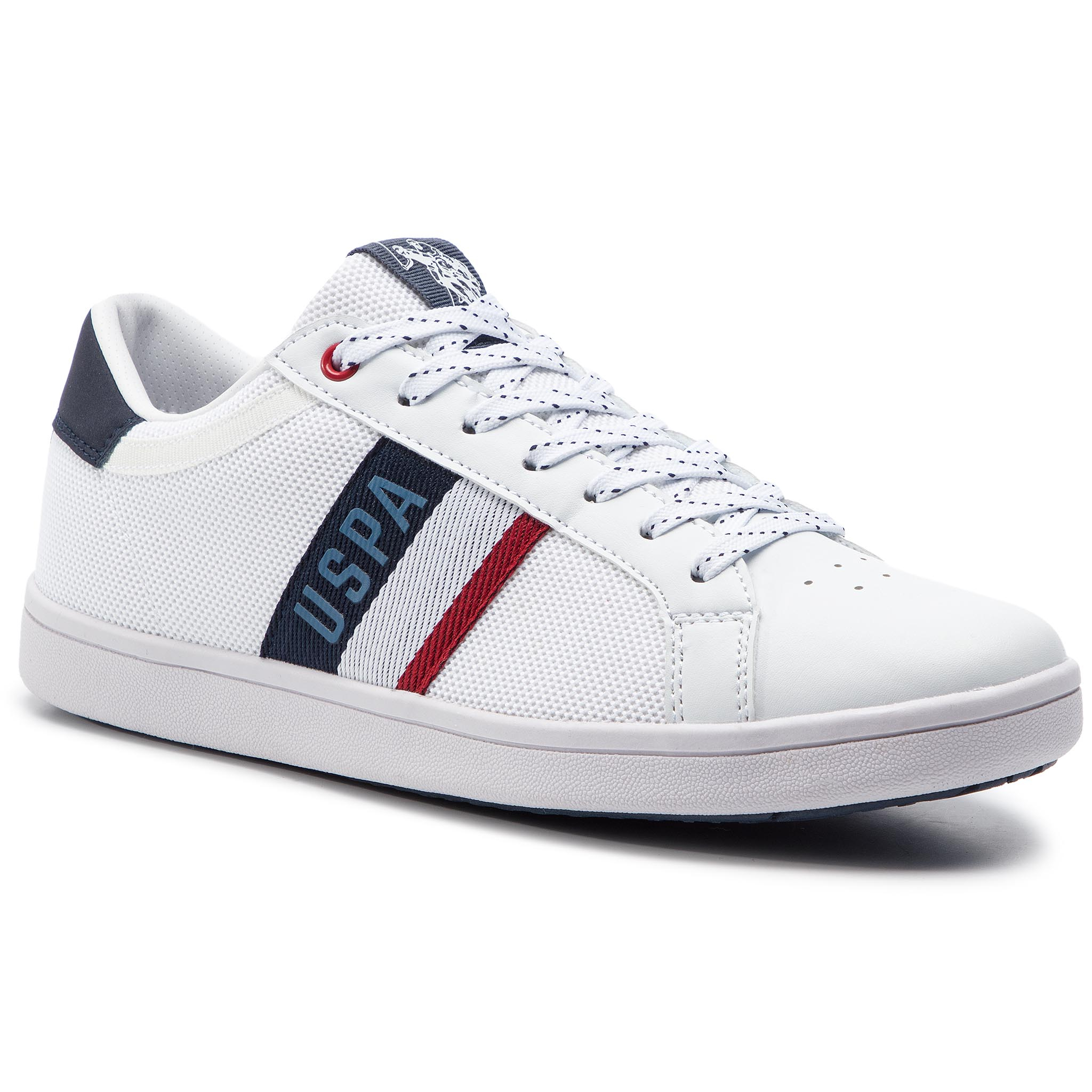Sneakers U.S. POLO ASSN. - Icon Mesh JARED4052S9/MY1 Whi/Dkbl