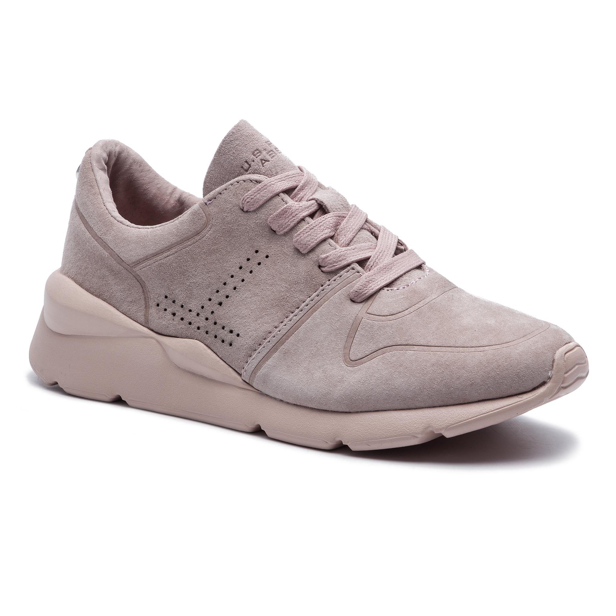 Sneakers U.S. POLO ASSN. - Honey 4122S9/S1 Wales Lpink