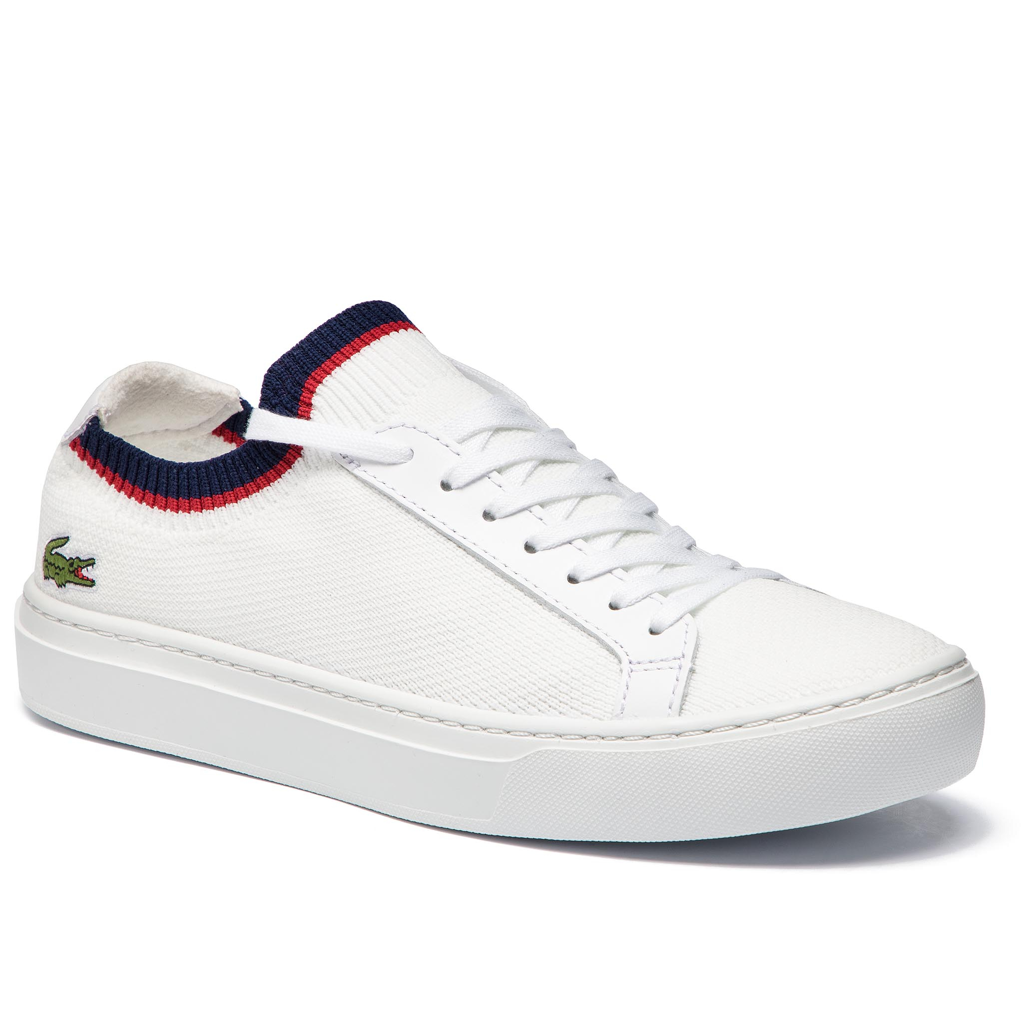 Sneakers LACOSTE - La Piquee 199 1 Cma 7-37CMA0038407 Wht/Nvy/Red New