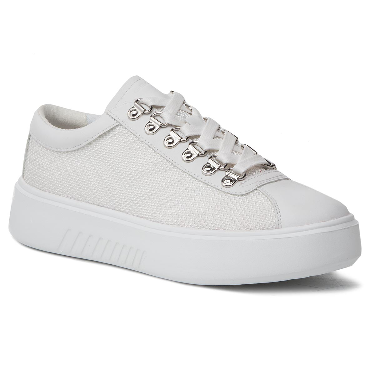 Sneakers GEOX - D Nhenbus H D828DH 01485 C1000 White