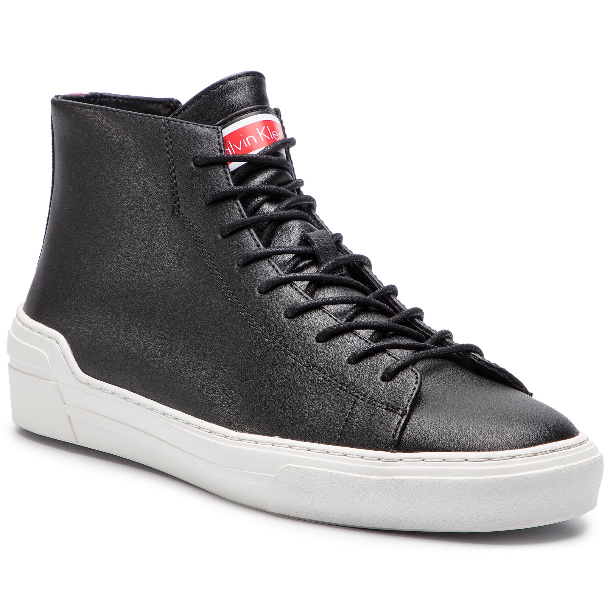 Sneakers CALVIN KLEIN - Okey F0996 Black/White/Cherry