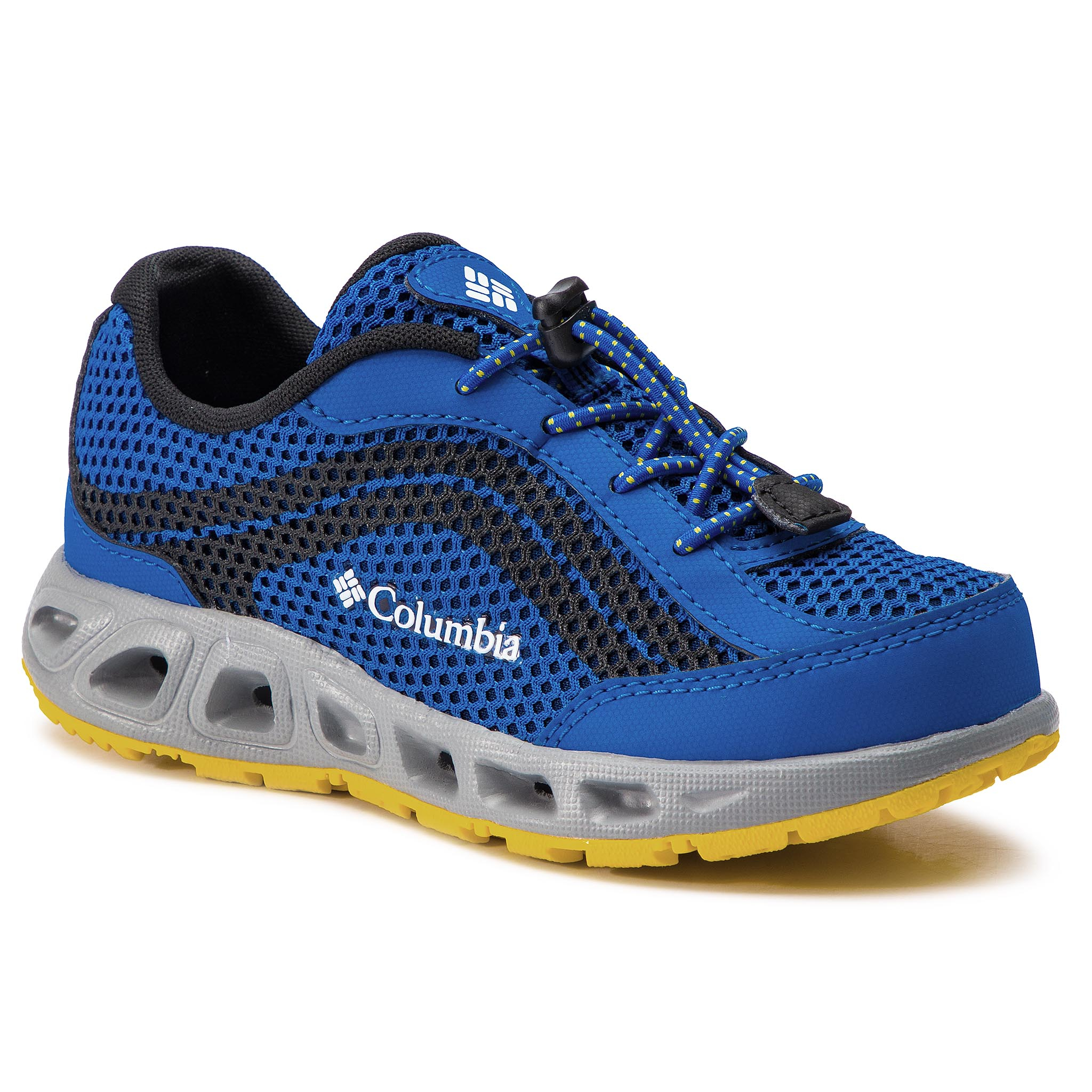 Trekkings COLUMBIA - Youth Drainmaker IV BY1091 Stormy Blue/Deep Yellow 426