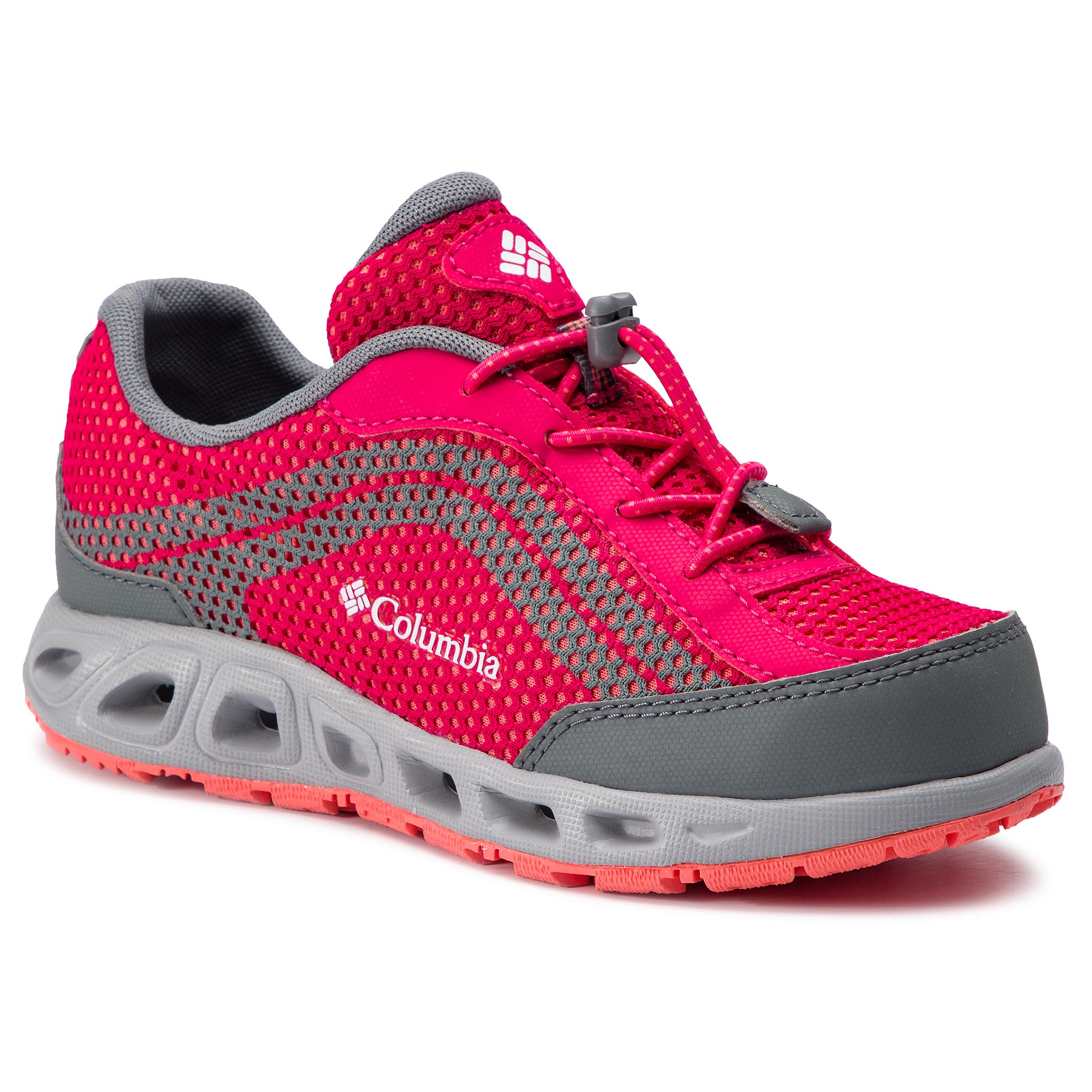 Trekkings COLUMBIA - Youth Drainmaker IV BY1091 Bright Rose/Hot Coral 600
