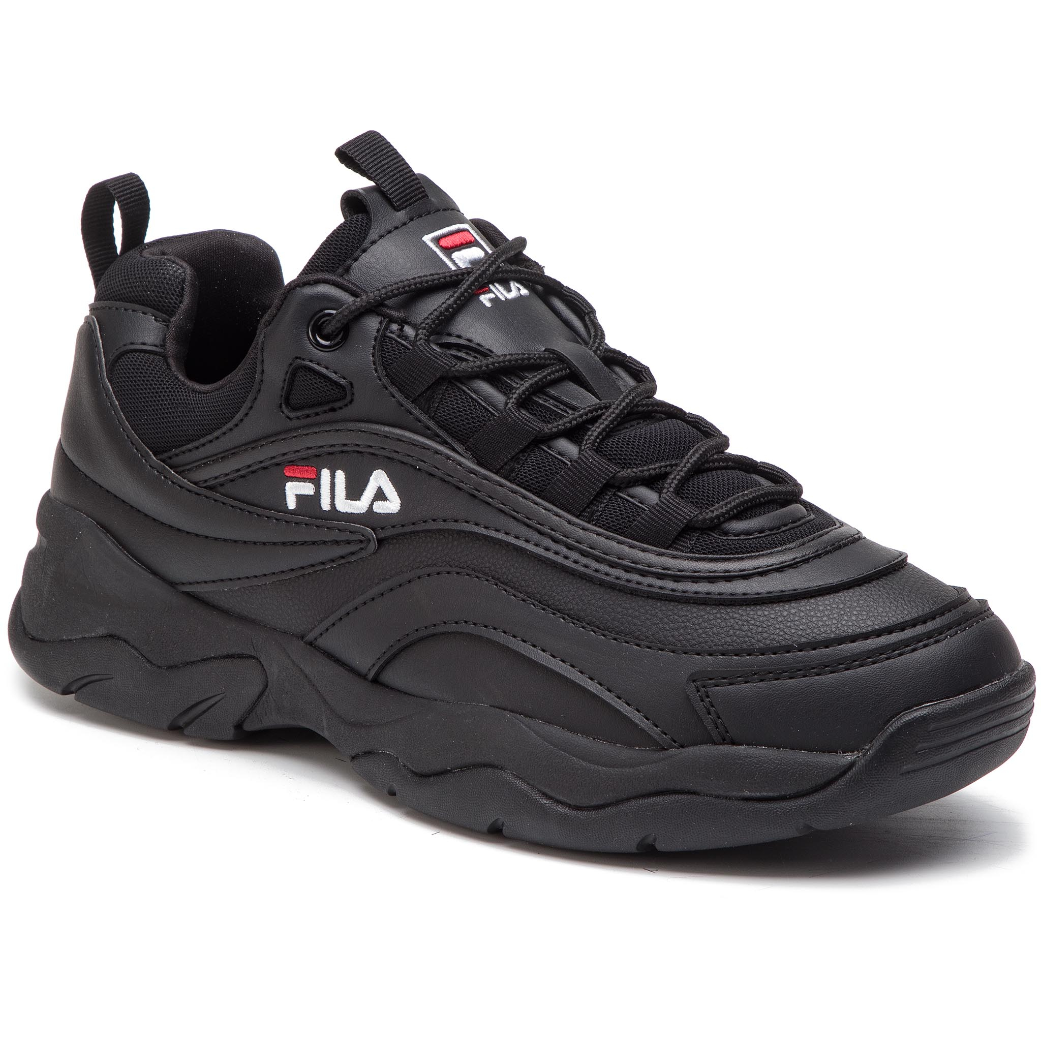 Sneakers Fila - Ray Low 1010561.12v Black/Black imagine