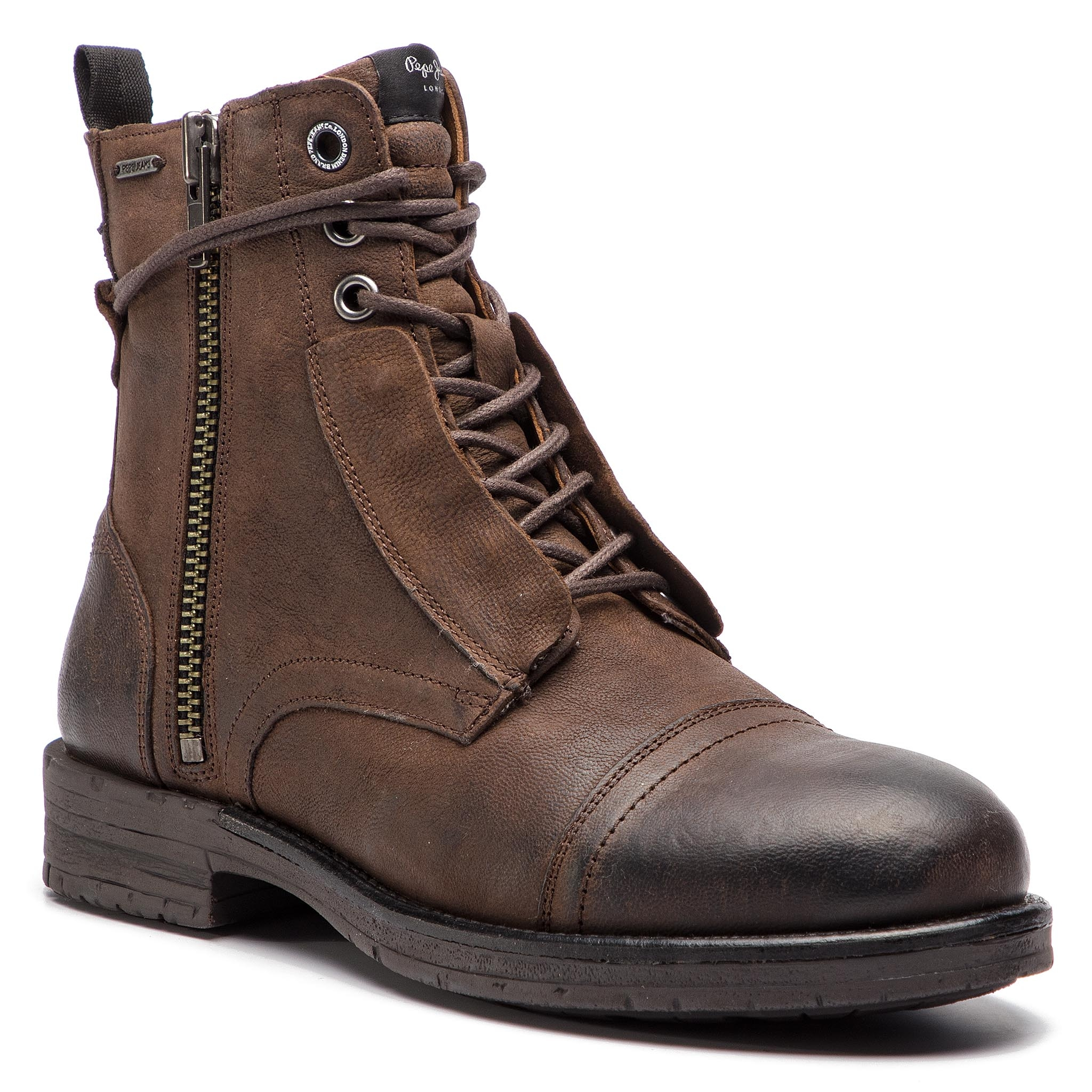 Cizme PEPE JEANS - Tom Cut Boot PMS50162 Stag 884