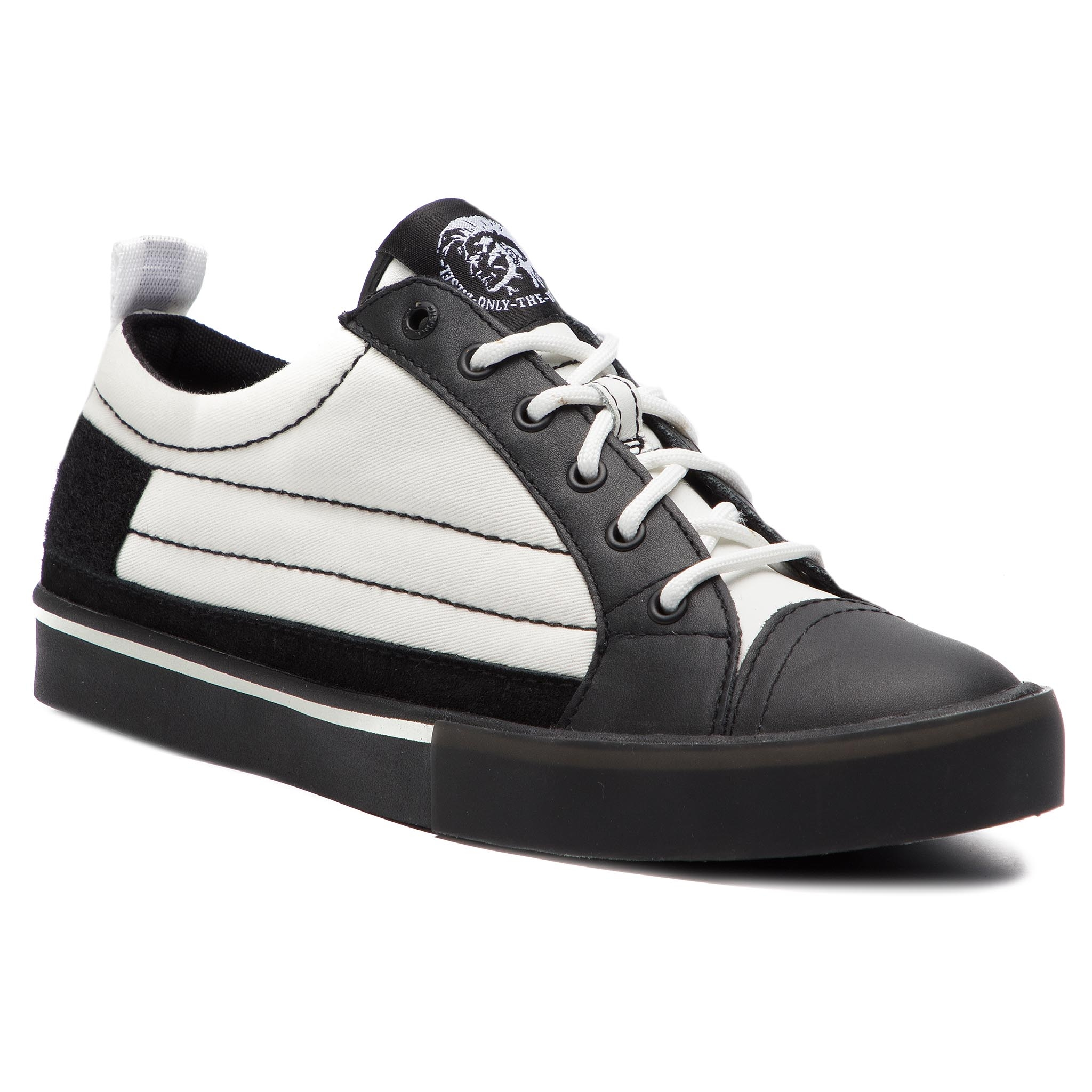 Teniși DIESEL - D-Velows Low Patch Y01870 P2090 H1527 White/Black