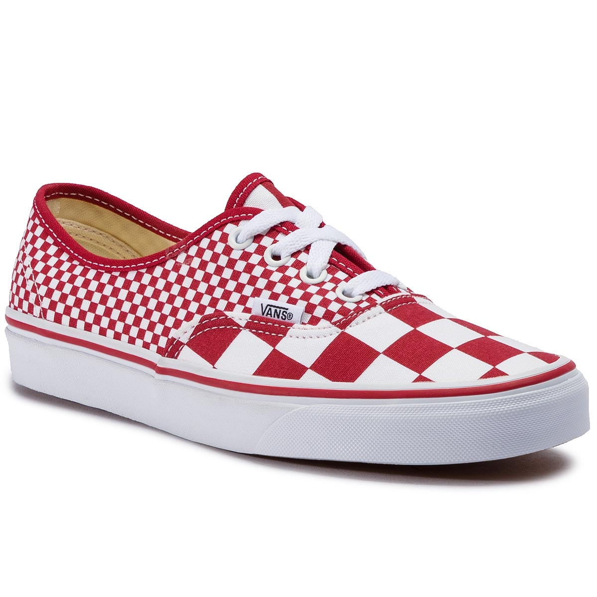 Teniși Vans - Authentic Vn0a38emvk51 (Mix Checker) Chili Peppe imagine epantofi.ro 2021