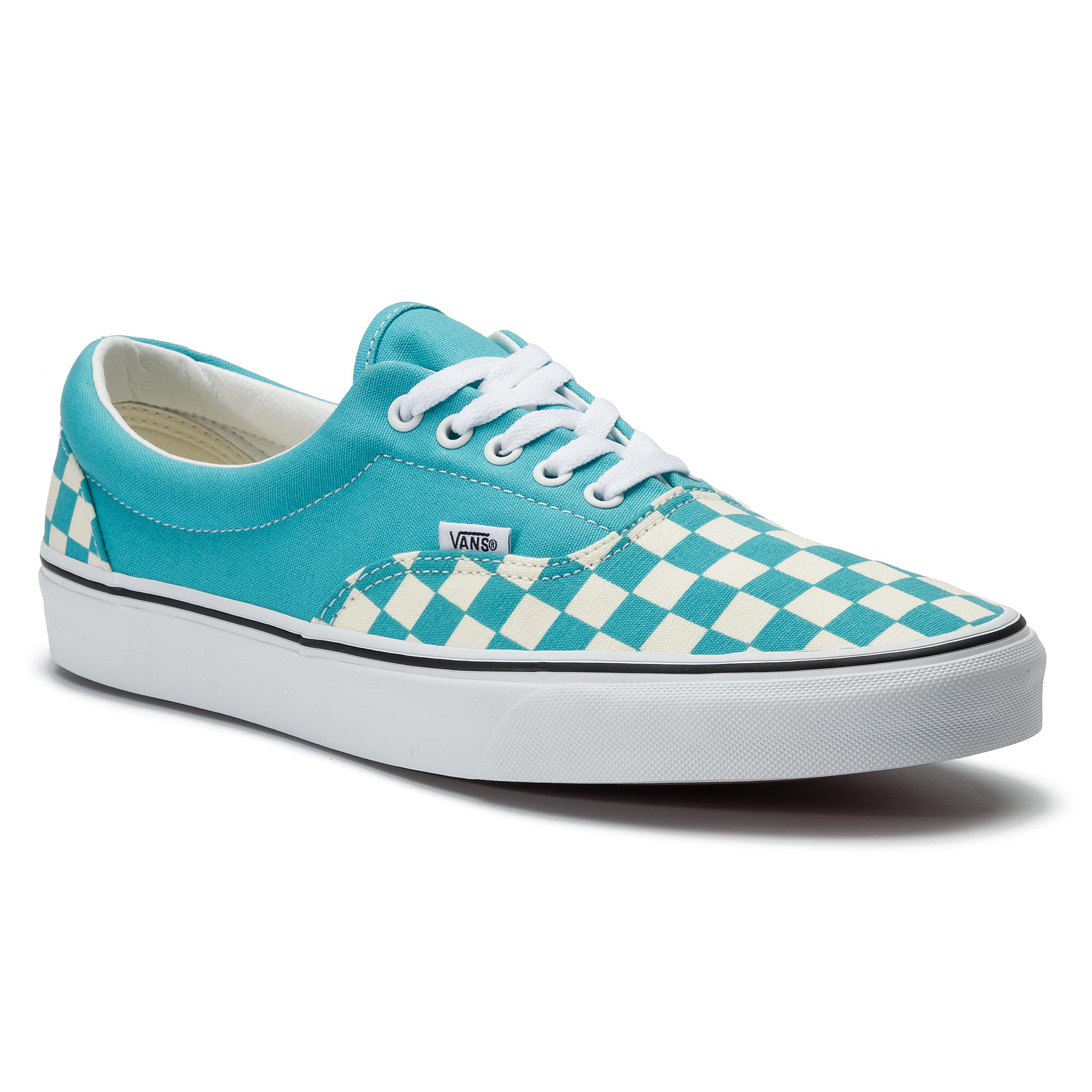 Teniși Vans - Era Vn0a38frvow1 (Checkerboard) Scuba Blue imagine epantofi.ro 2021