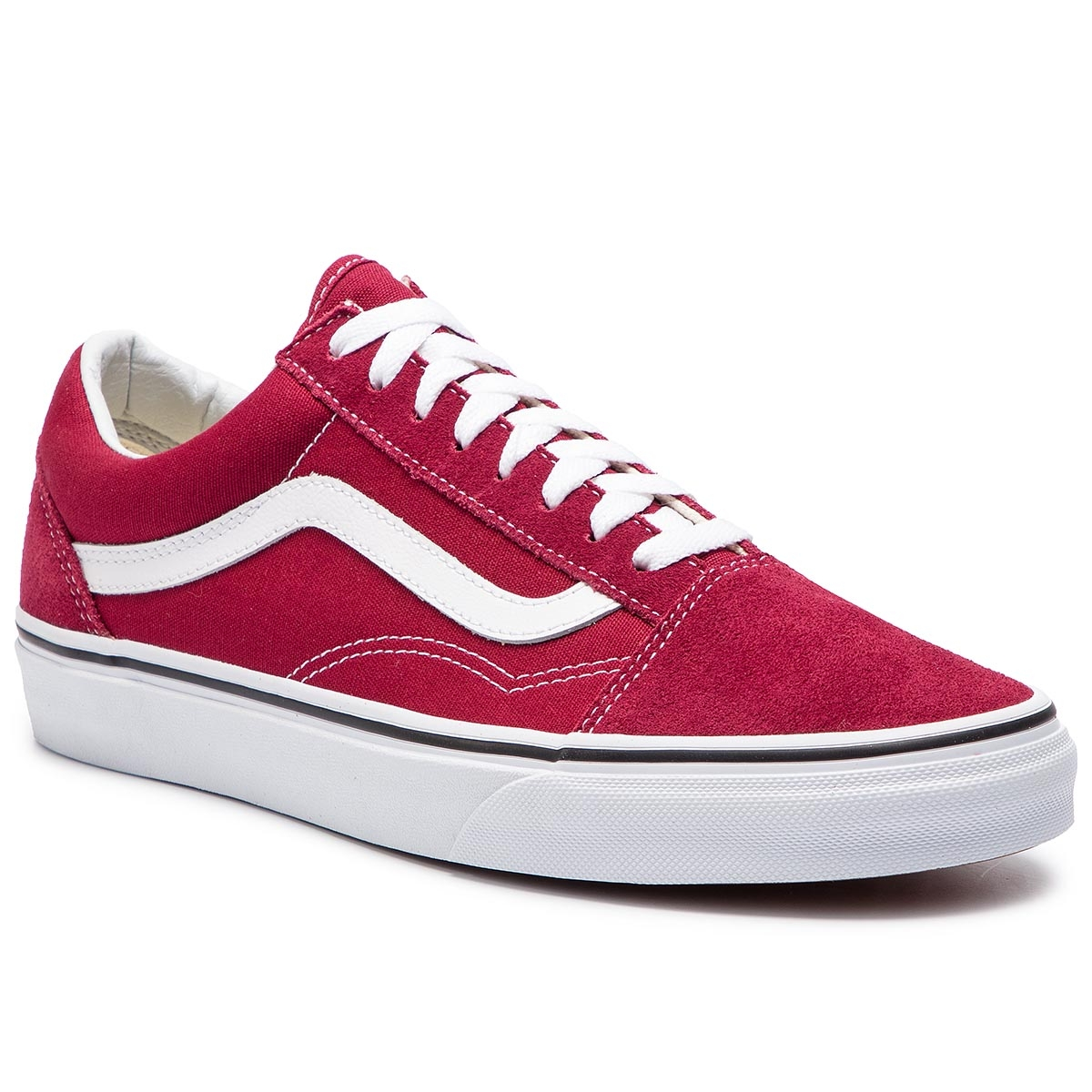 Teniși VANS - Old Skool VN0A38G1VG41 Rumba Red/True White