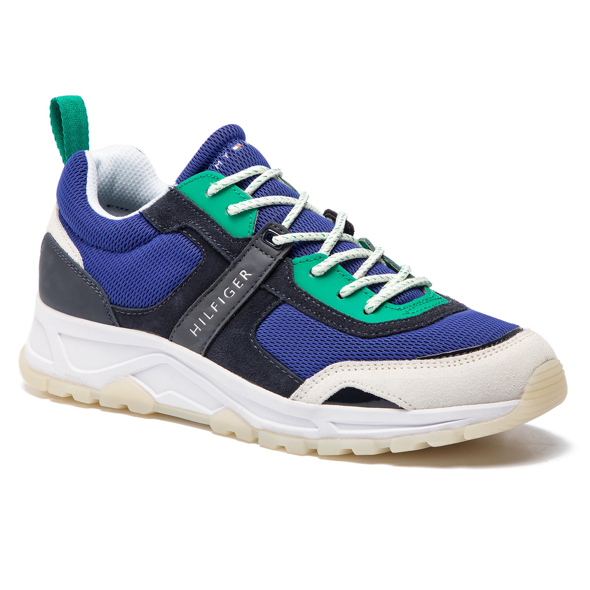 Sneakers TOMMY HILFIGER - Fashion Mix Sneaker FM0FM02027 Midnight 403