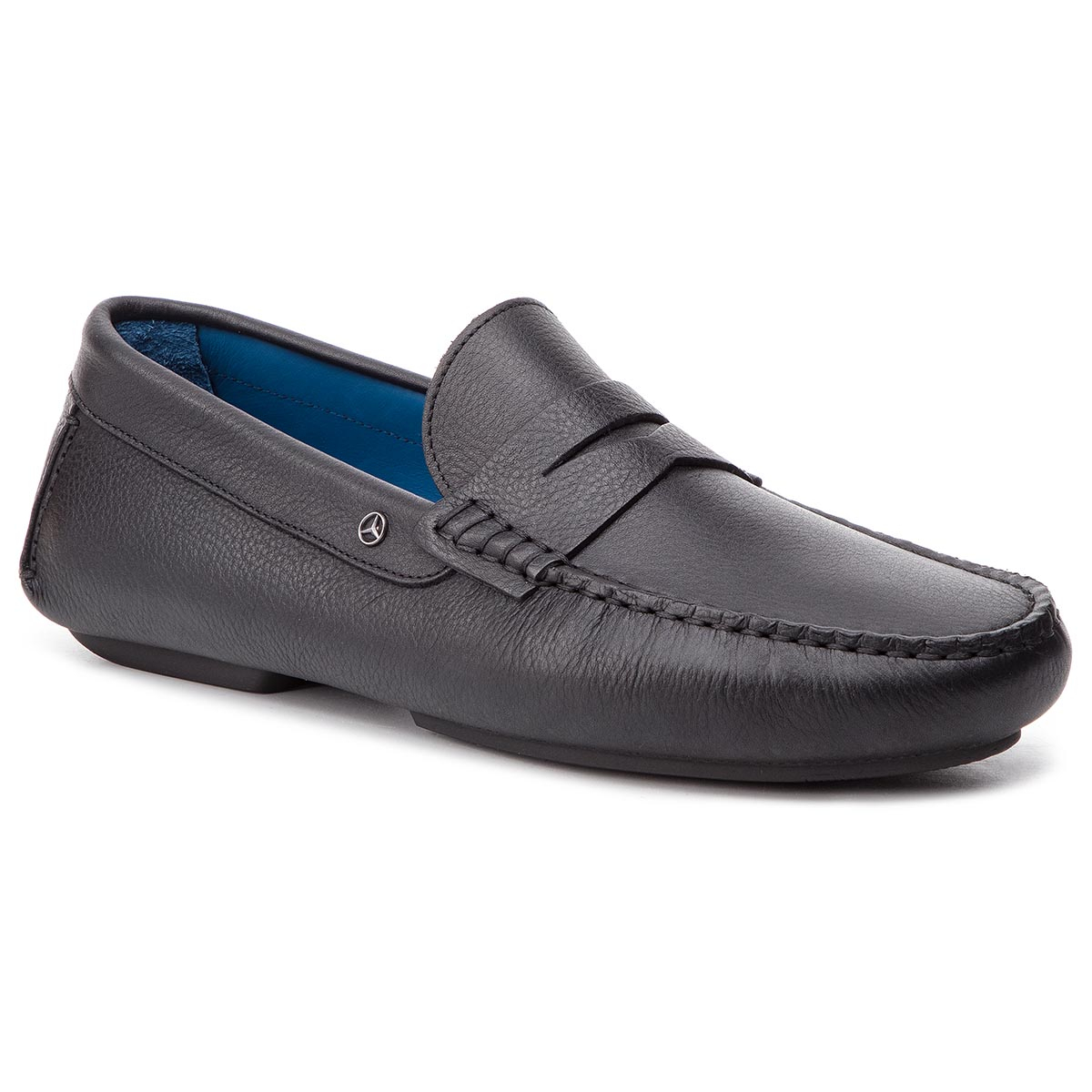 Mocasini TOMMY HILFIGER - 2 Mb Mercedes Leather Pennybar FM0FM02243 Black 990