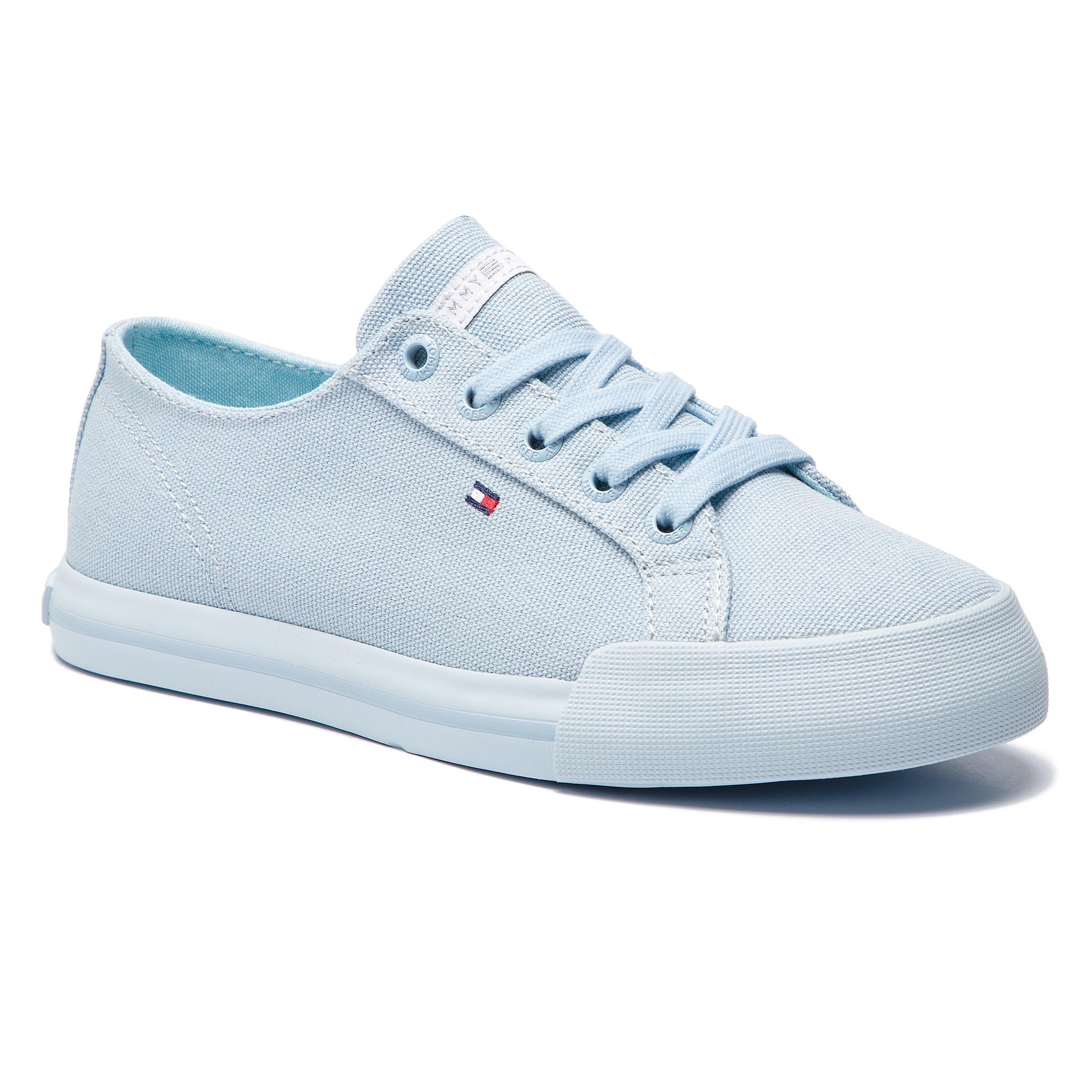 Teniși TOMMY HILFIGER - Pastel Tommy Essential Sneaker FW0FW04067 Omphalodes 450