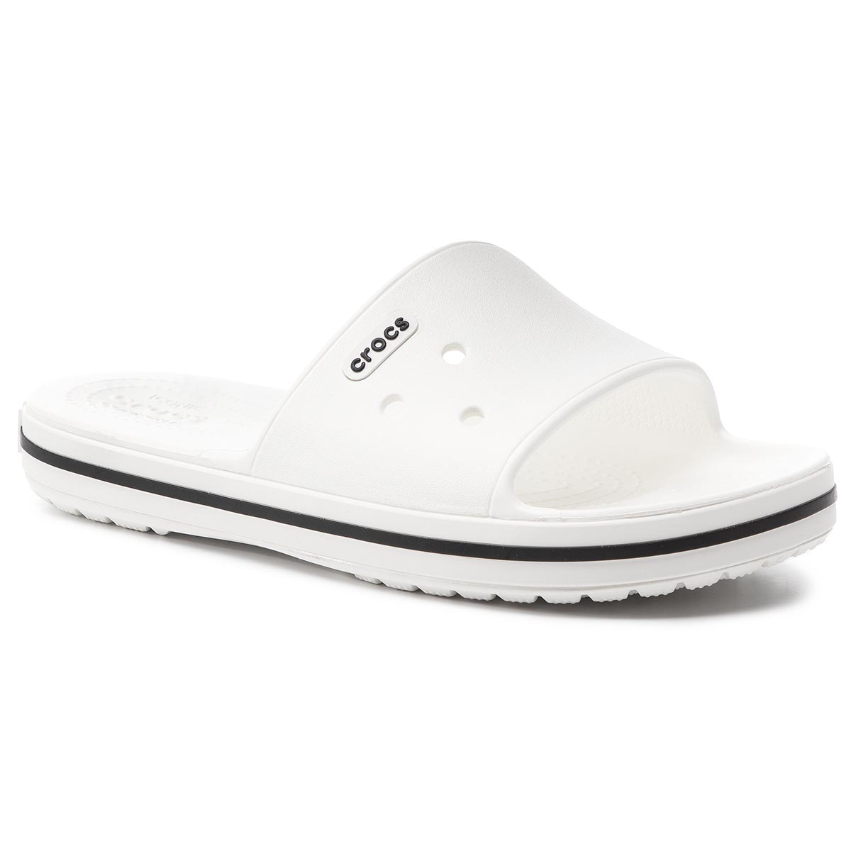 Șlapi CROCS - Crocband III Slide 205733 White/Black