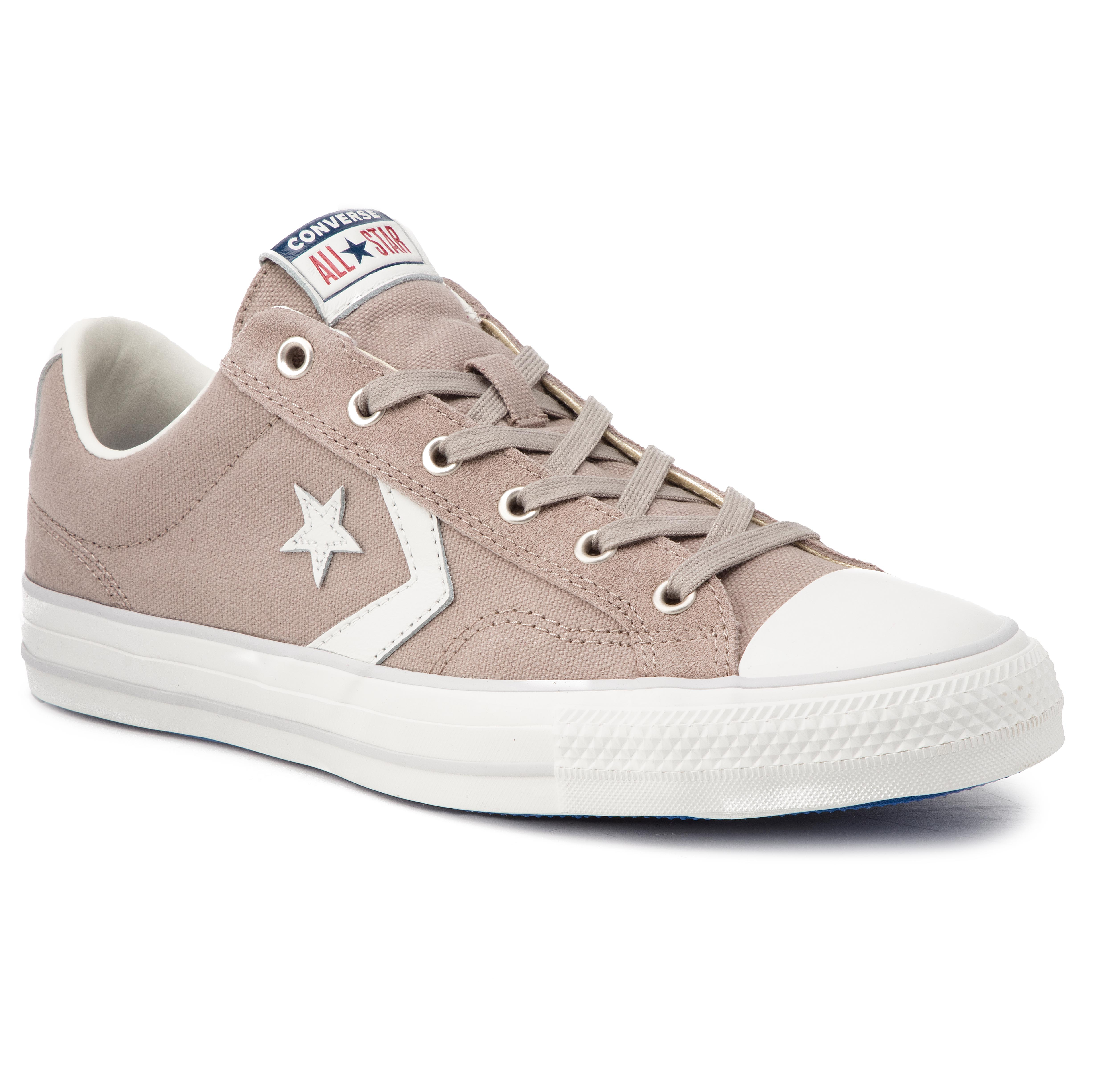 Teniși Converse - Star Player Ox Hum 163962c Hummus/White/Mouse imagine epantofi.ro 2021