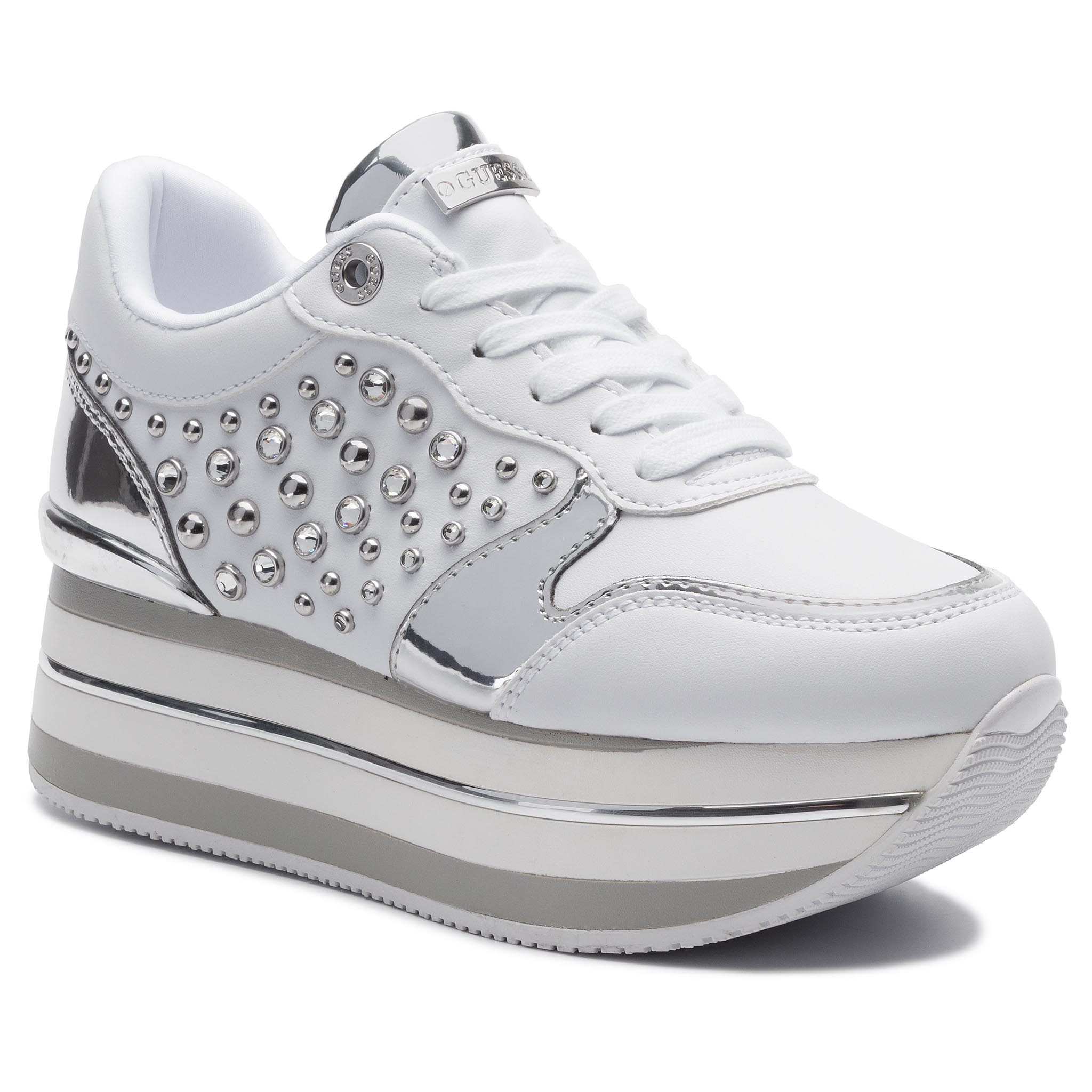 Sneakers GUESS - Humbull FL7HUM ELE12 WHITE