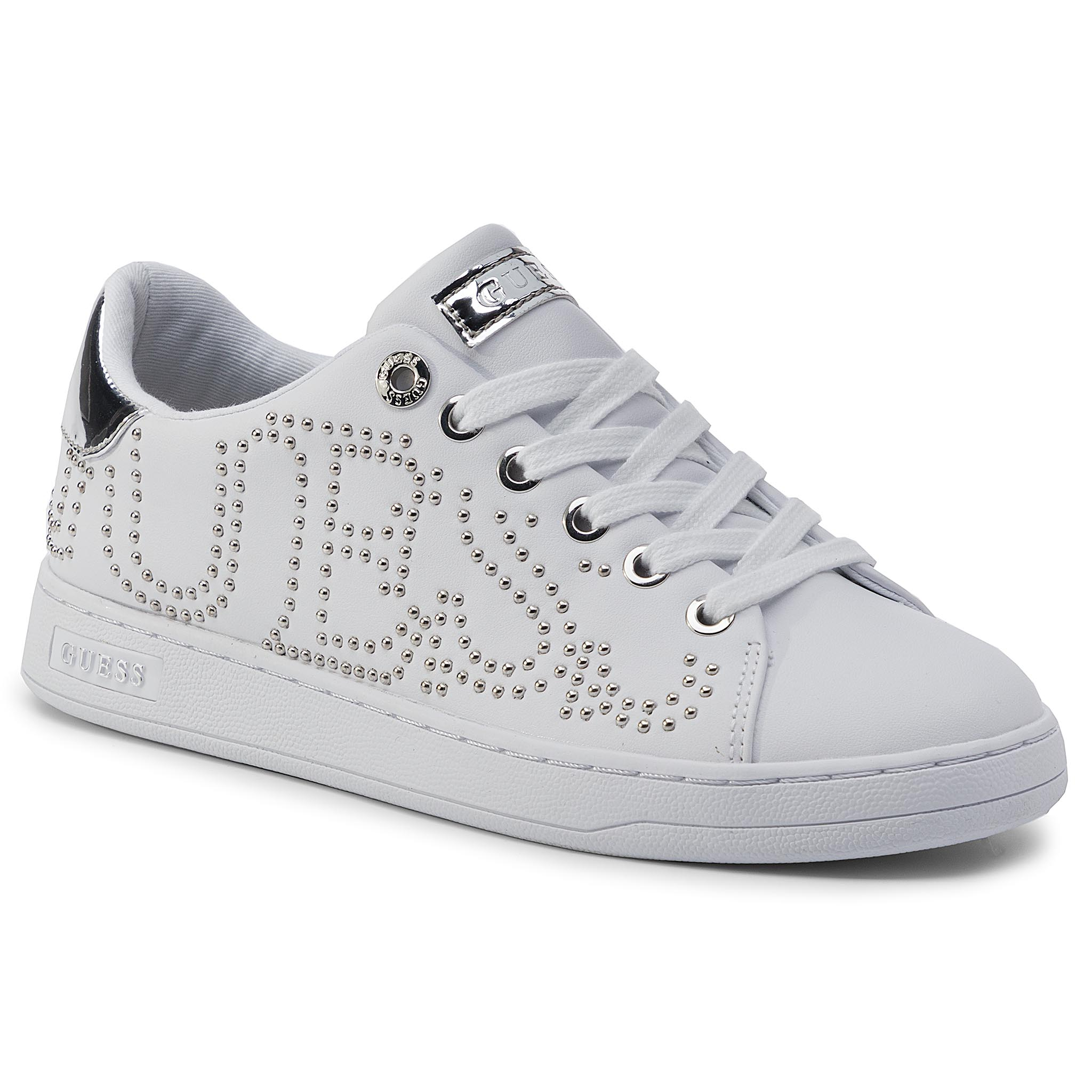 Sneakers GUESS - Cater FL7CAT ELE12 WHISI