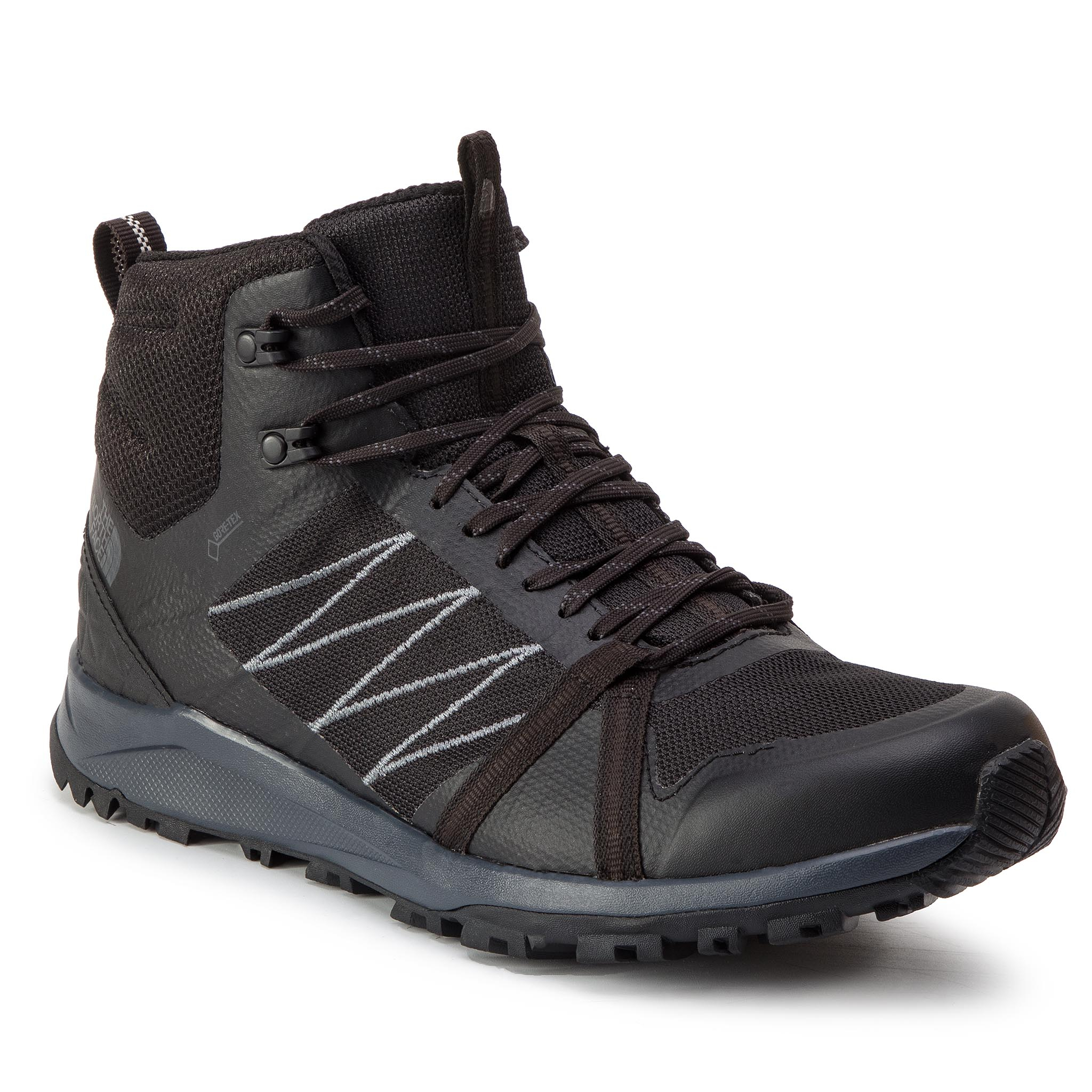 Trekkings THE NORTH FACE - Litewave Fastpack II Mid Gtx GORE-TEX T93REBCA0 Tnf Black/Ebony Grey