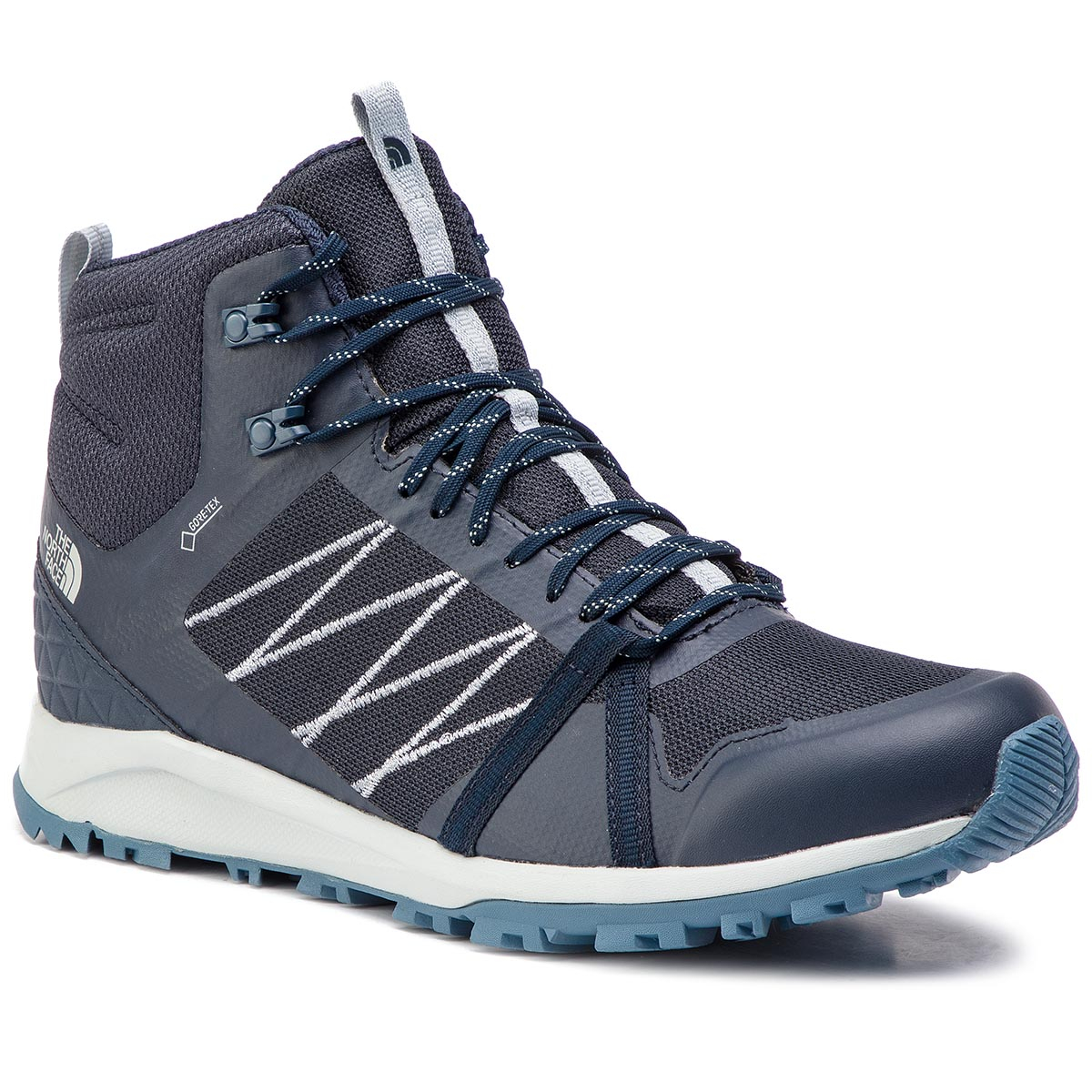 Trekkings THE NORTH FACE - Litewave Fastpack II Mid Gtx GORE-TEX Urban Navy/High Rise Grey