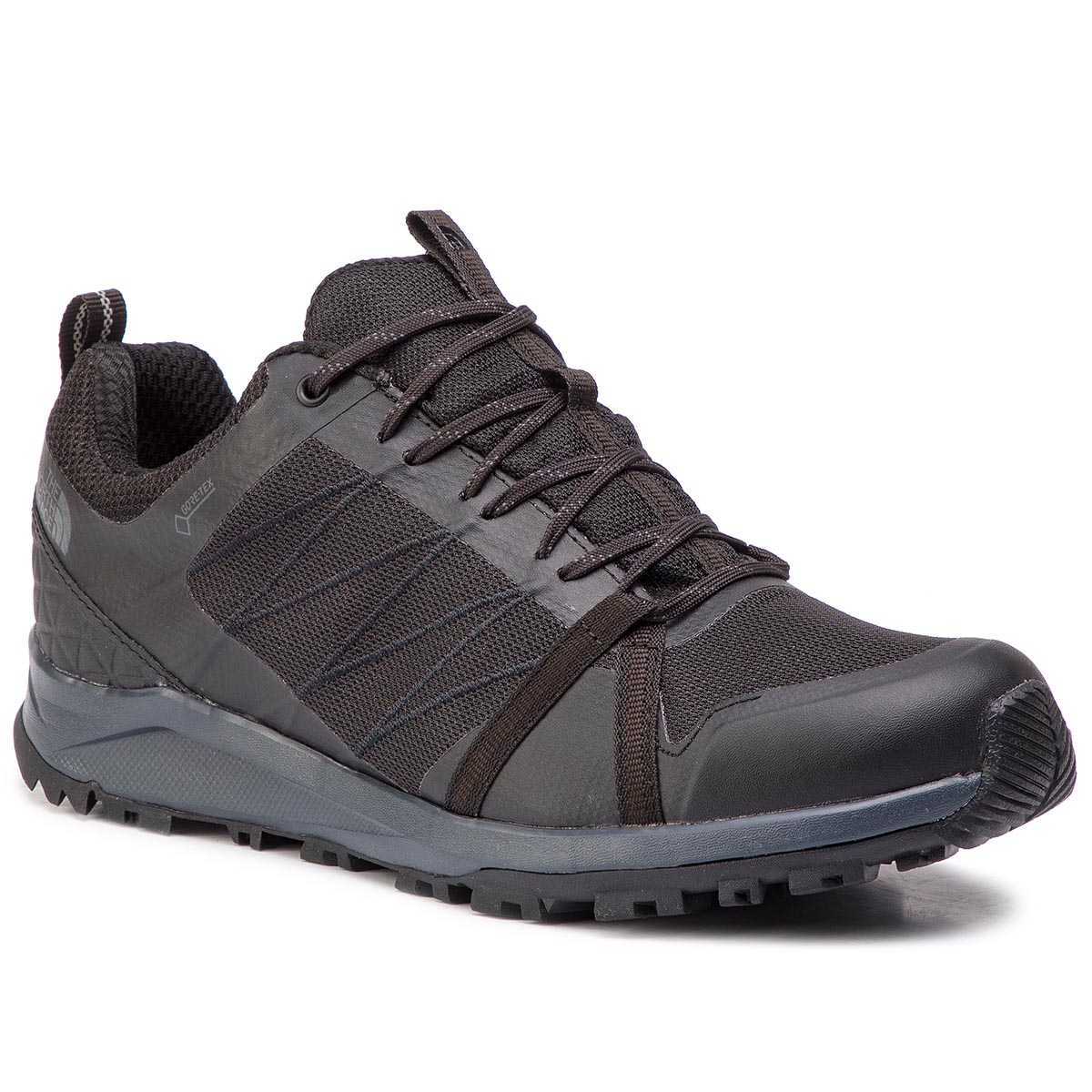 Trekkings The North Face - Litewave Fastpack Ii Gtx Gore-Tex T93redca0 Tnf Black/Ebony Grey imagine epantofi.ro 2021