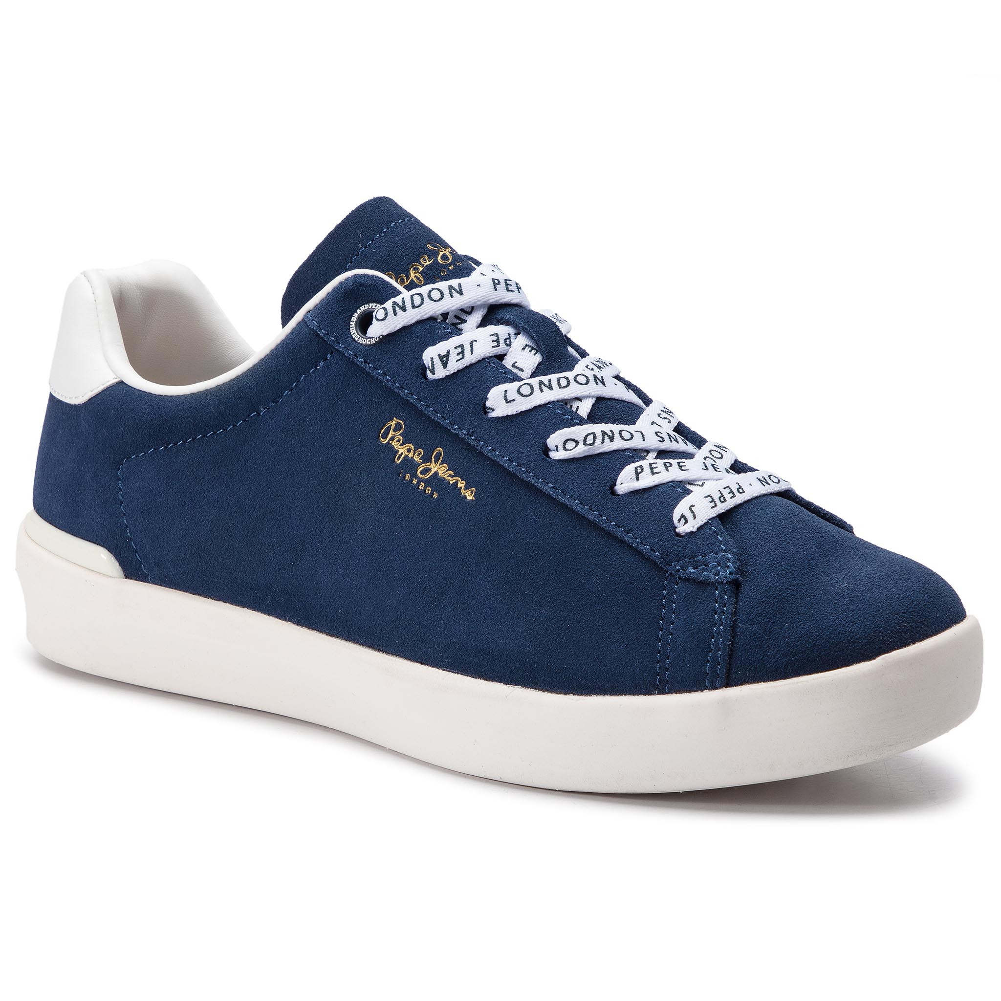 Sneakers PEPE JEANS - Roland Suede PMS30524 Ocean 588 New