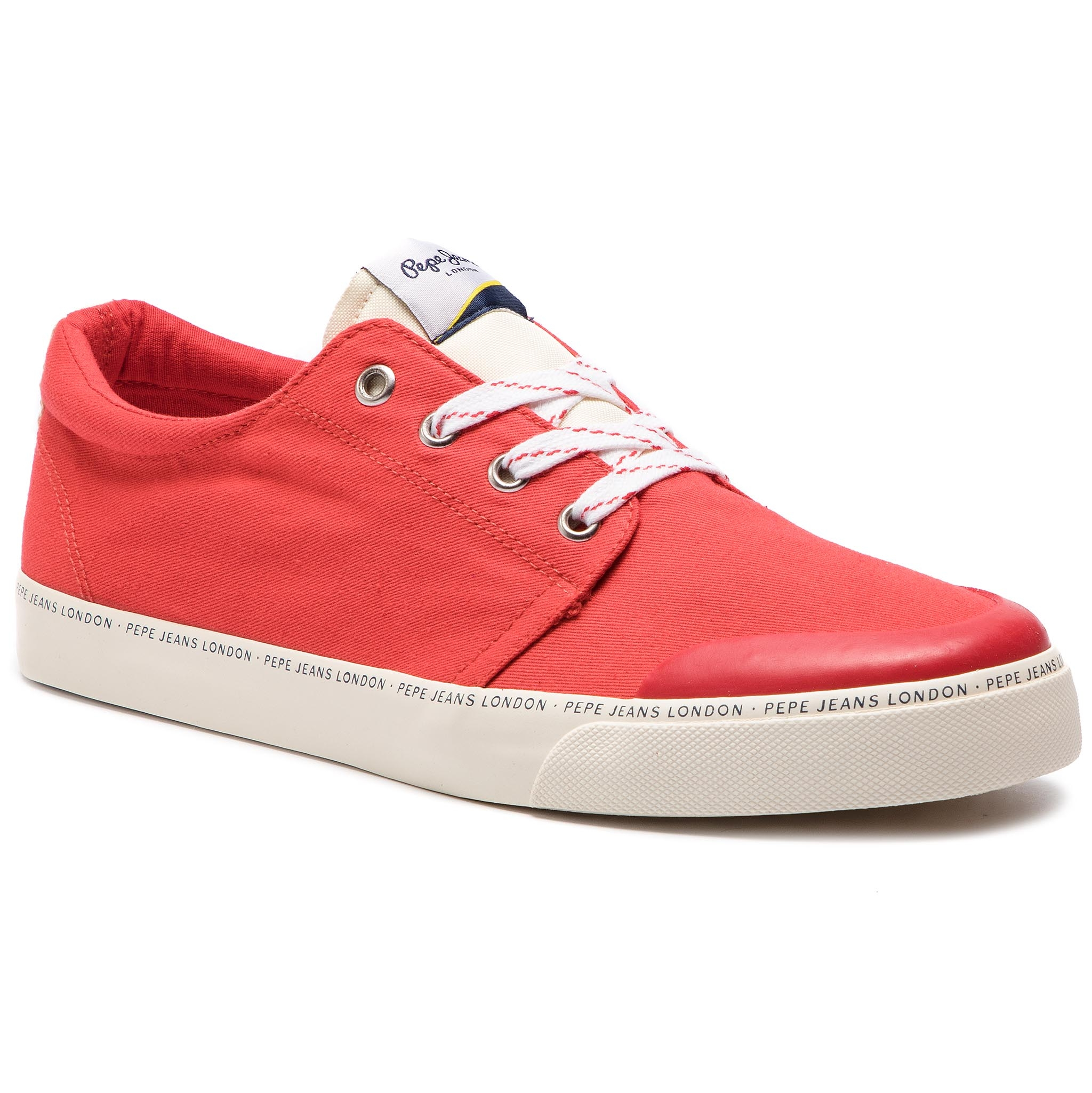 Sneakers PEPE JEANS - Traveller Basic Man PMS30541 Red 255