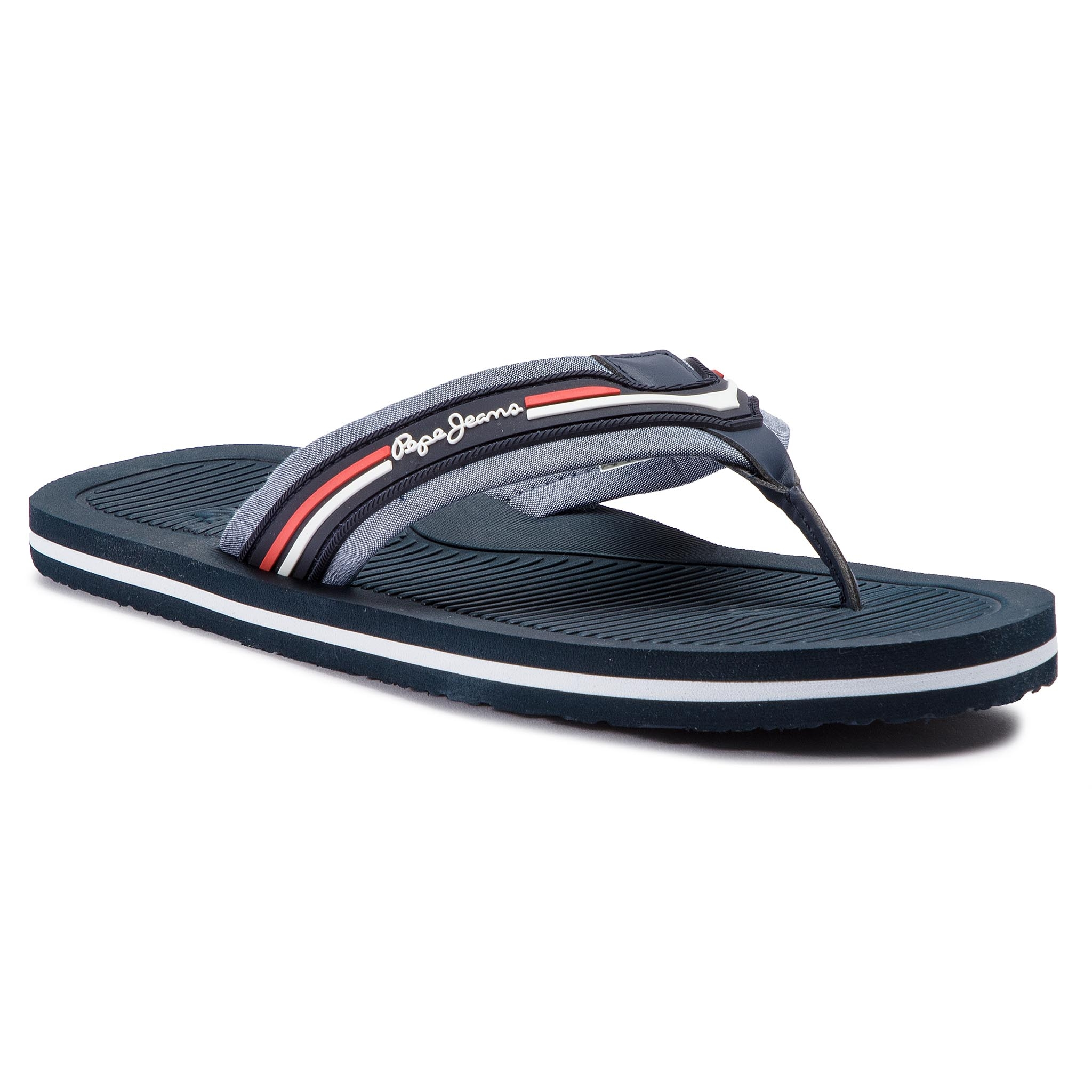 Flip Flop Pepe Jeans - Off Beach Chambray Pms90065 Chambray 564 imagine
