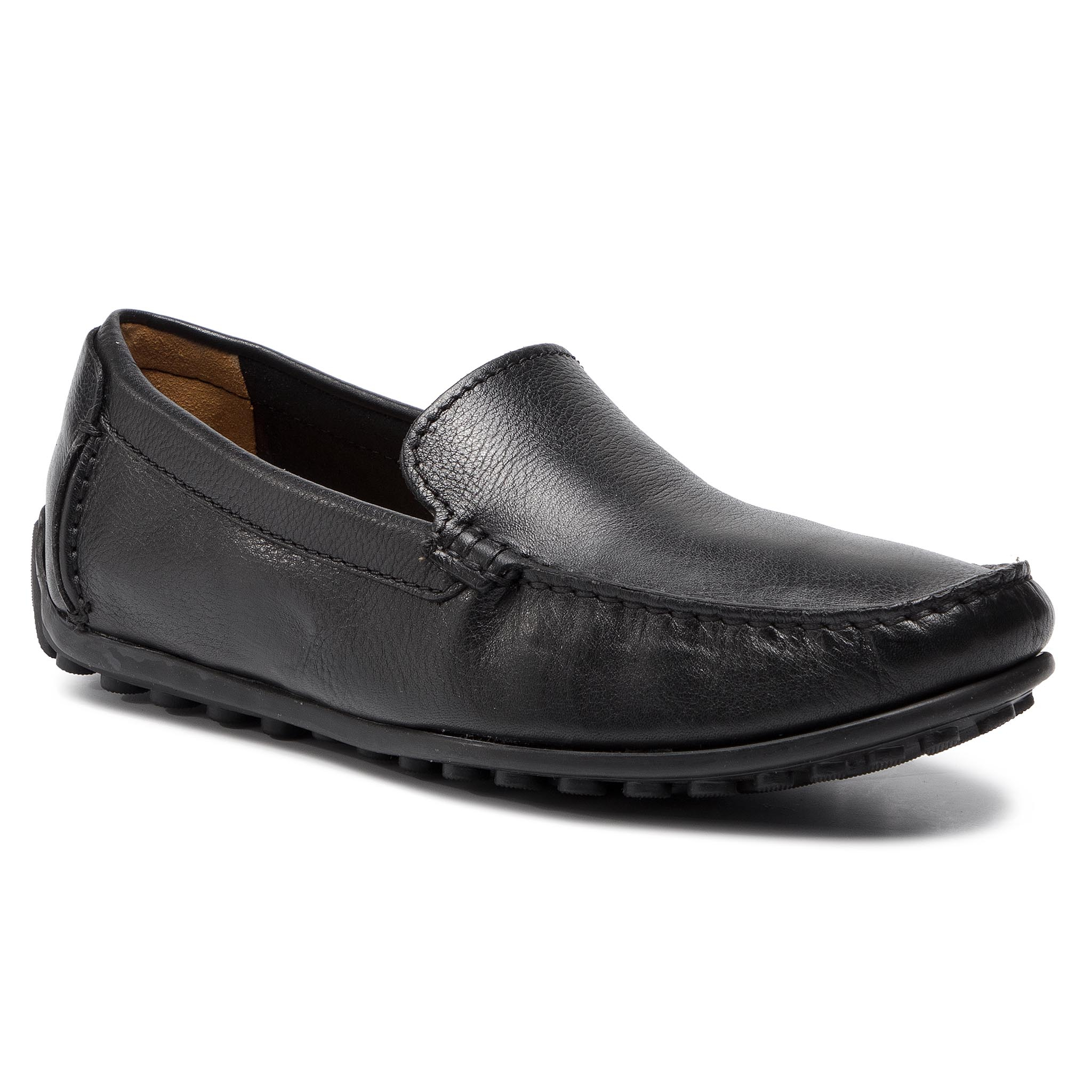 Mocasini Clarks - Hamilton Free 261199207 Black Leather imagine